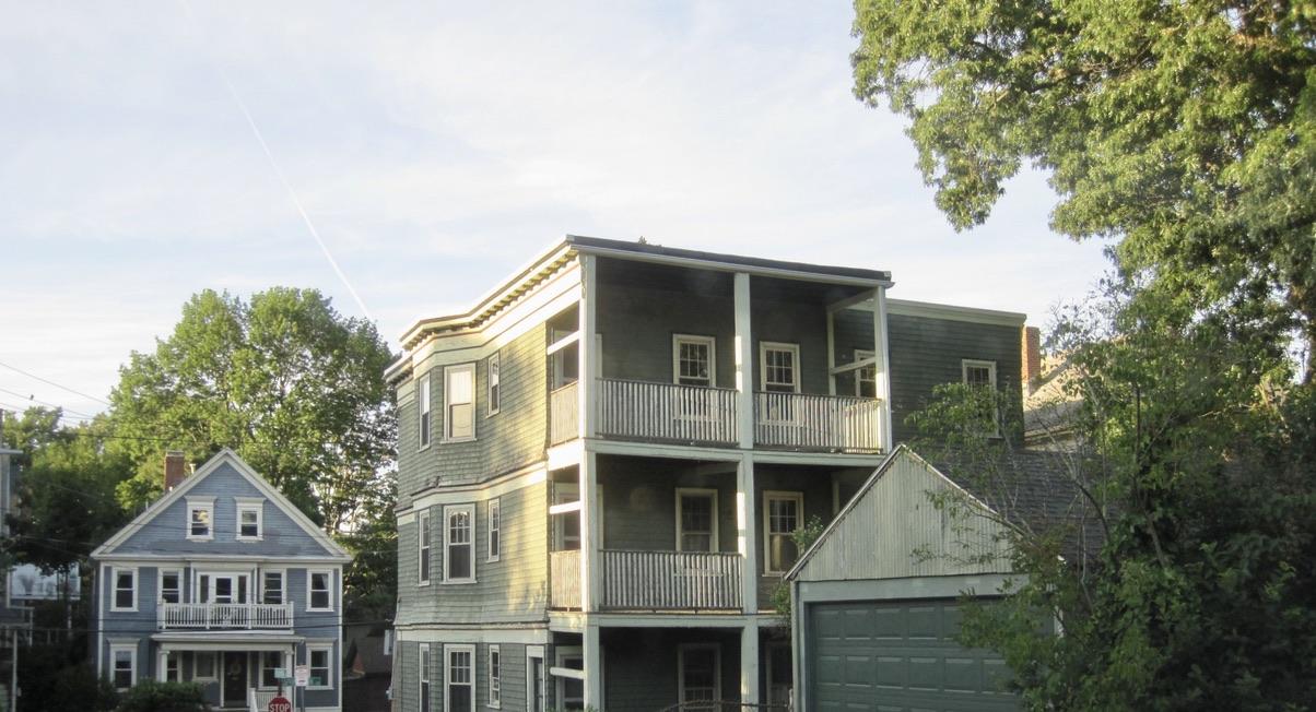Triple-Decker Home on Rockview St in Hyde Park