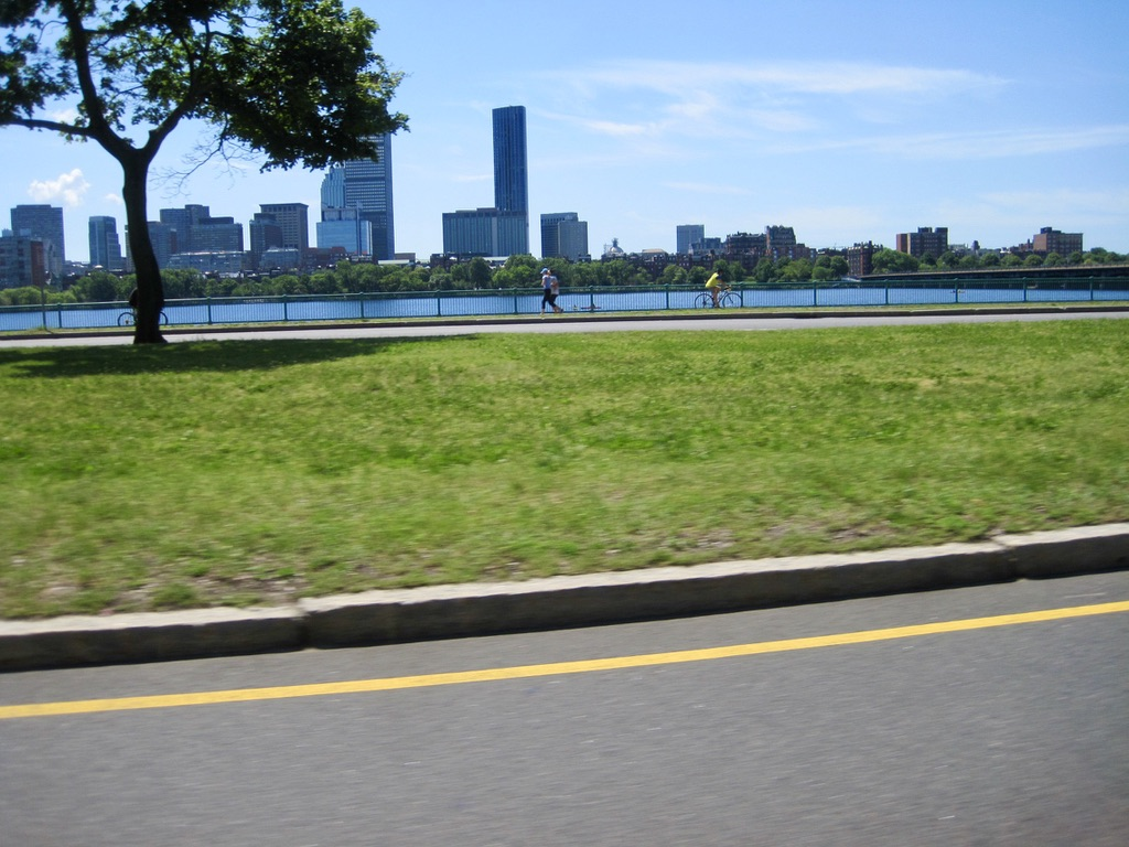 The Charles River from Mass Ave