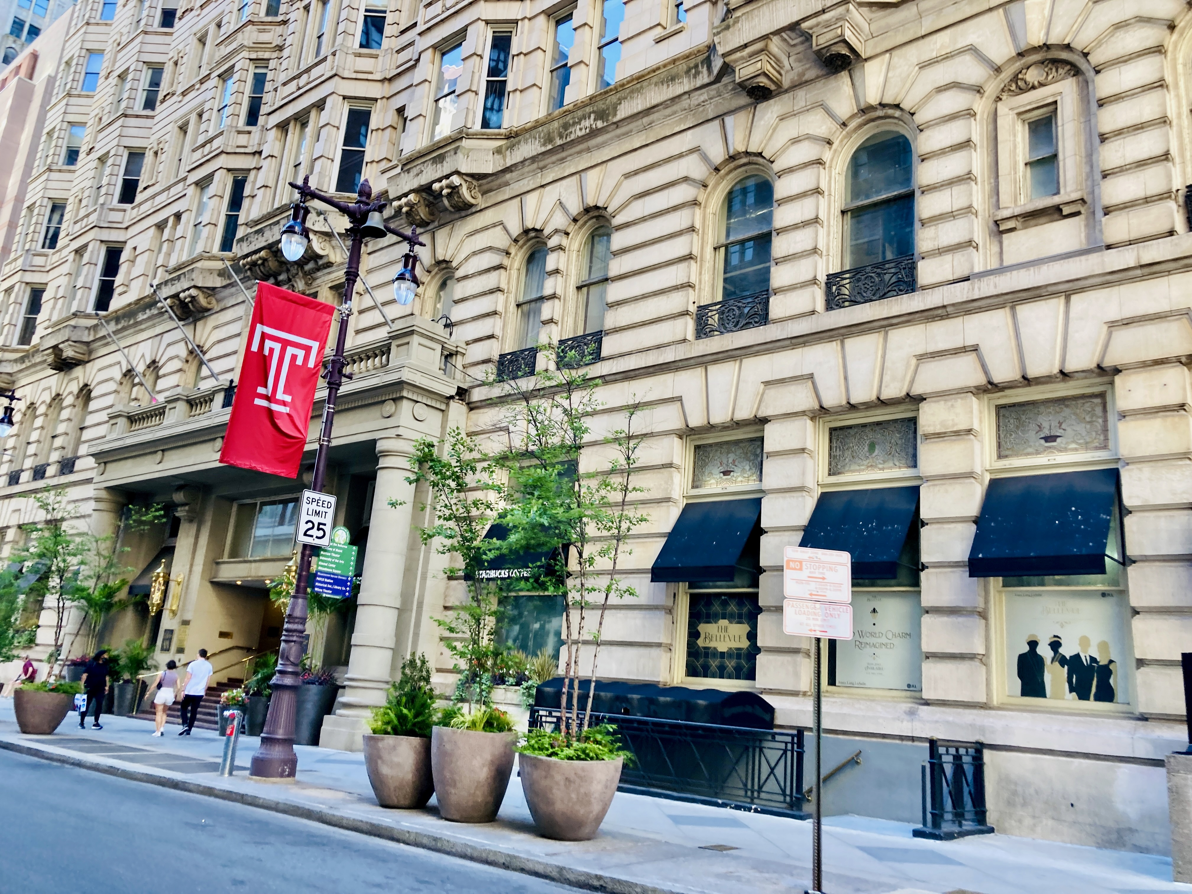 The Bellevue Hotel in Center City, PA