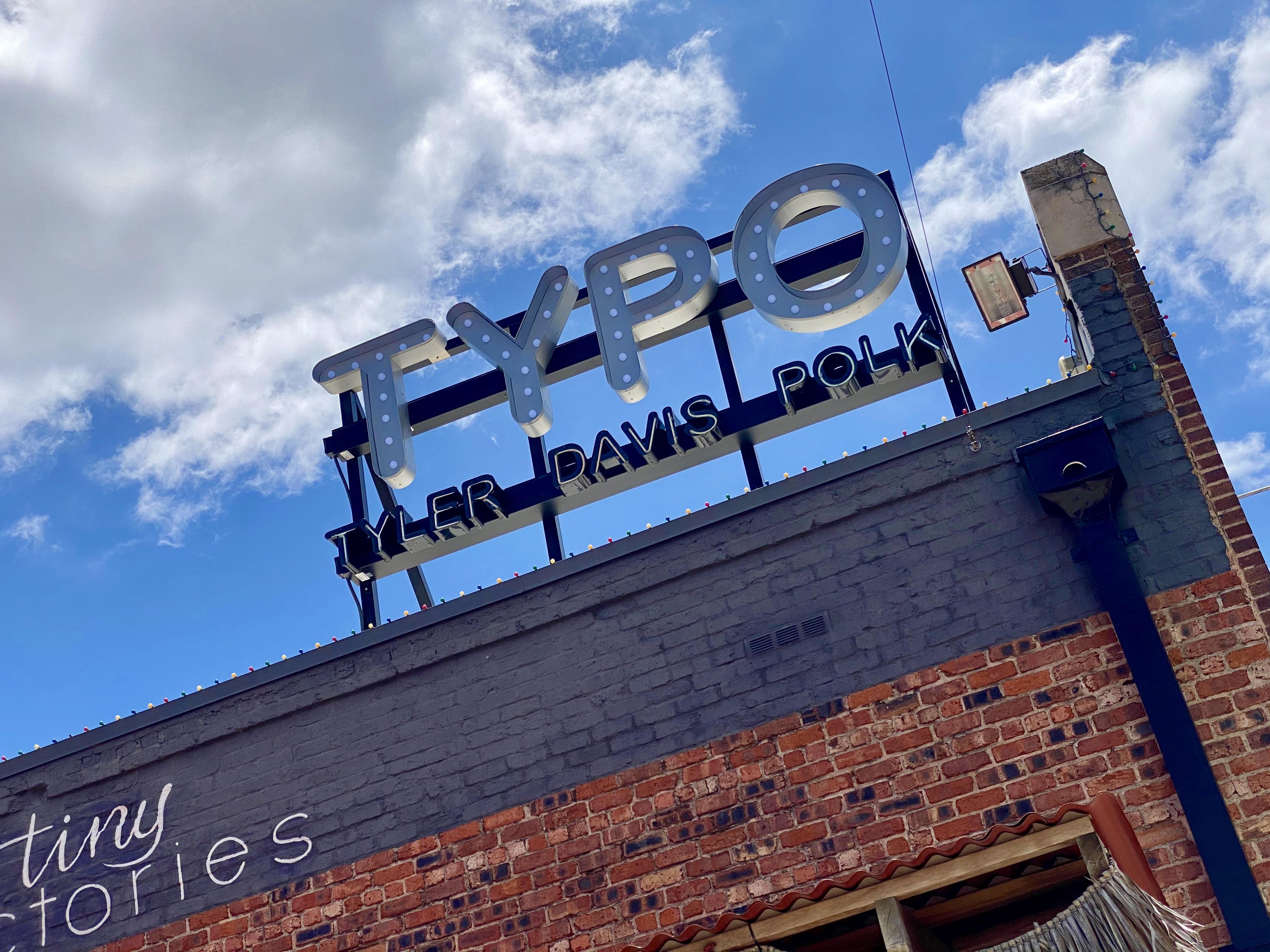 TYPO District in Oak Cliffs, TX
