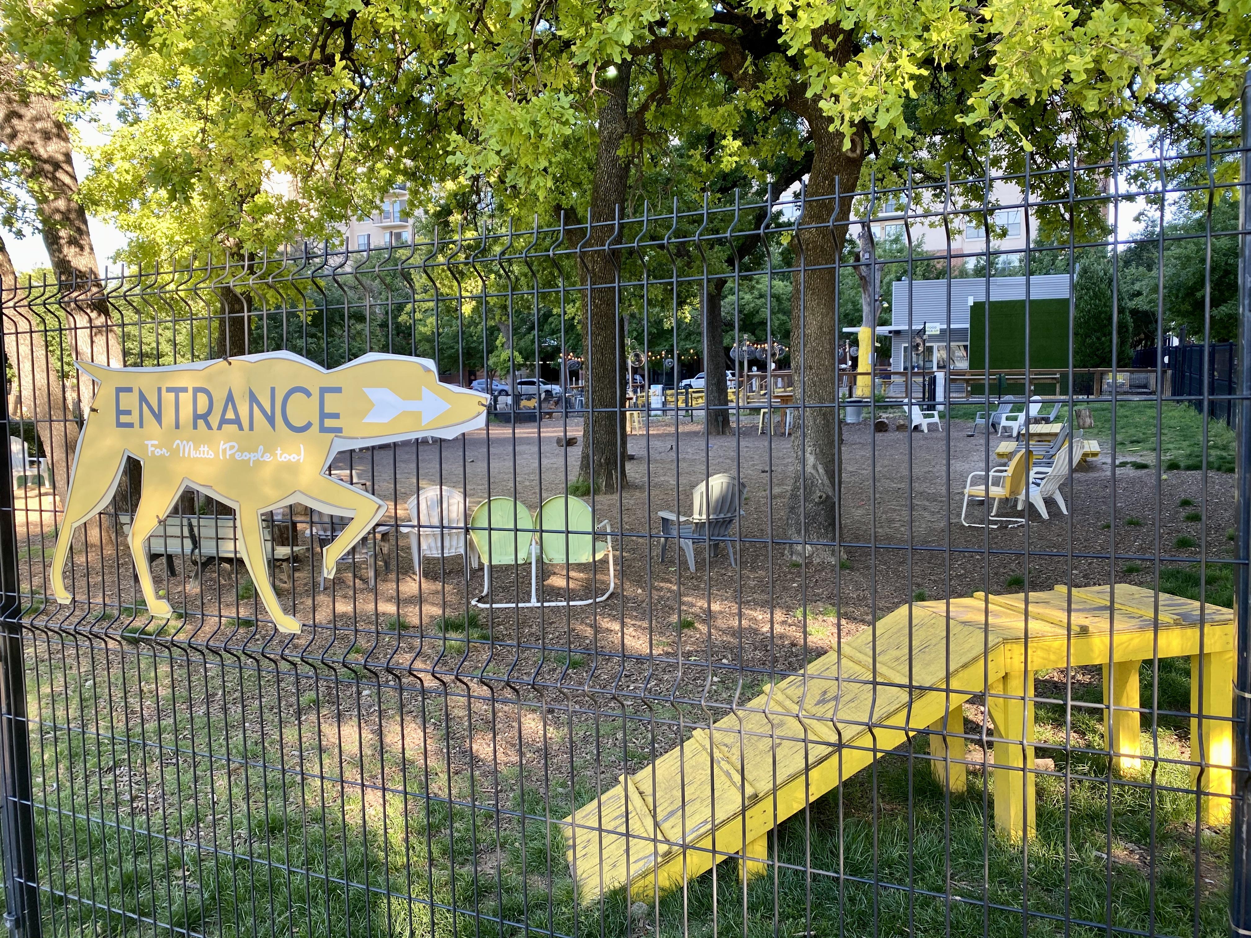 Mutts Canine Cantina Dog Park