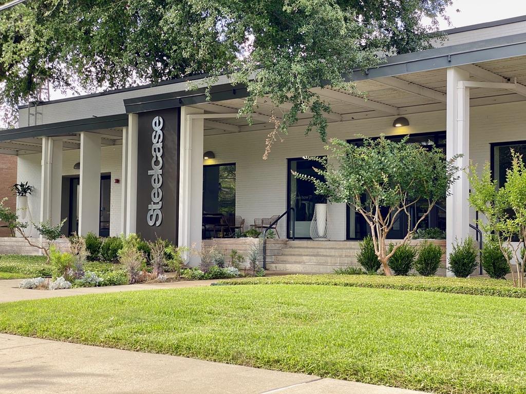 Steelcase Store in Dallas Design District, TX
