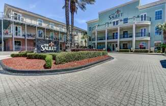 The Saulet Apartments