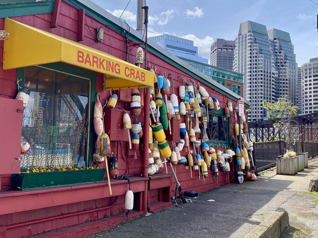 Barking Crab Restaurant in the Seaport of Boston, MA