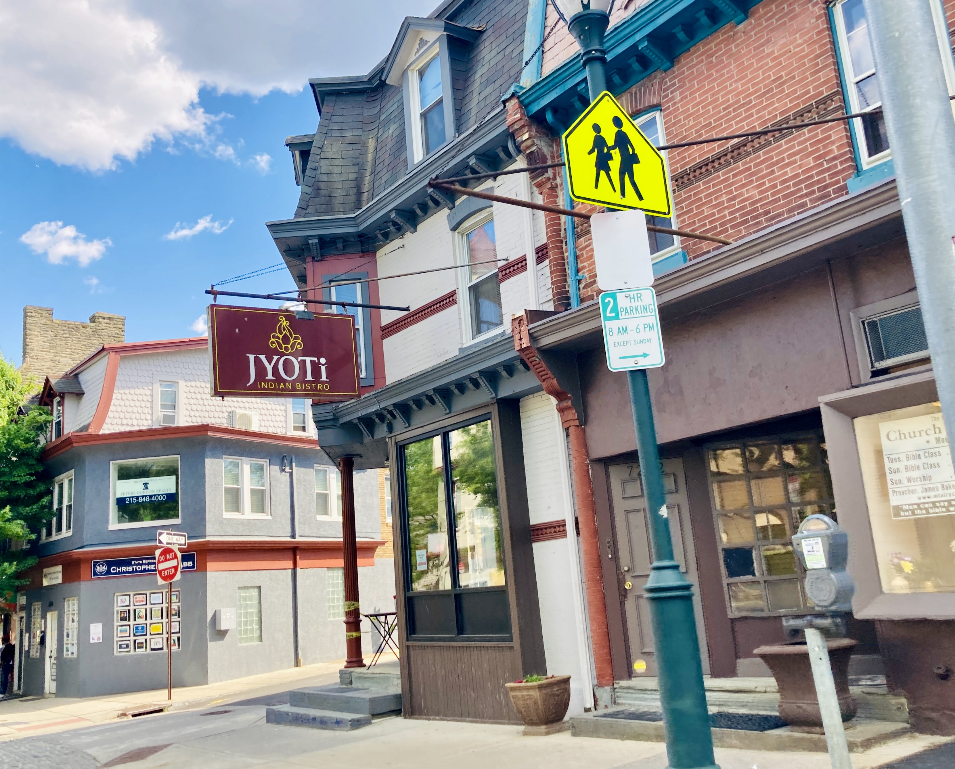 Jyoti Bistro in Mount Airy, PA