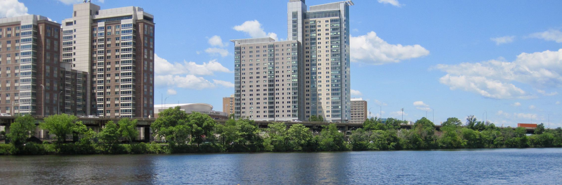 View of the Charles from Magazine Beach in Cambridgeport