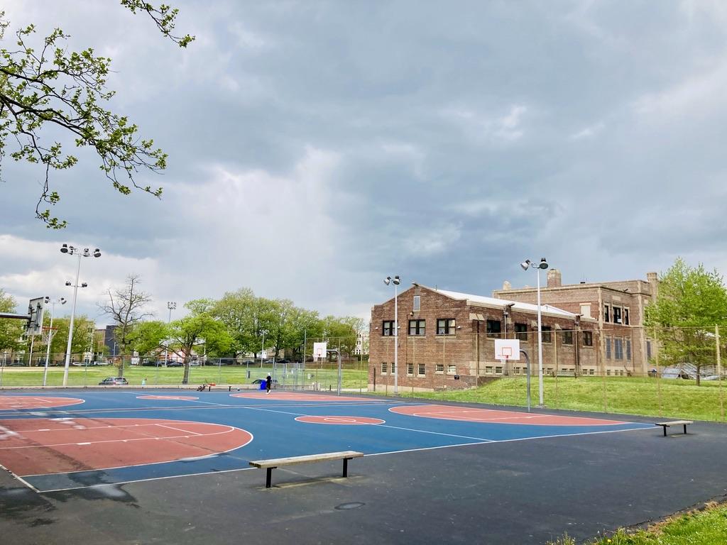 Public High School in Roxborough