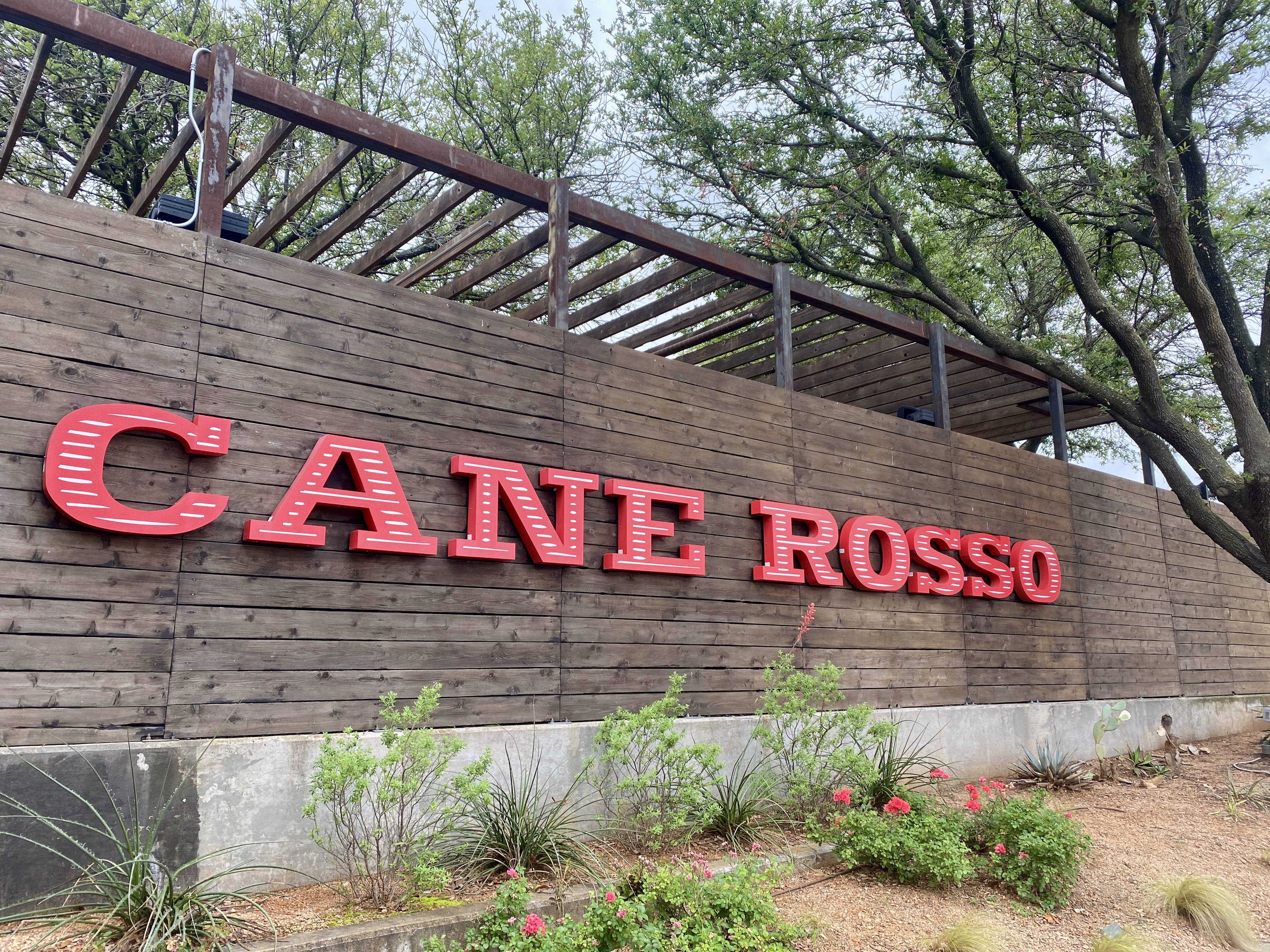 Cane Rosso Restaurant in White Rock Lake
