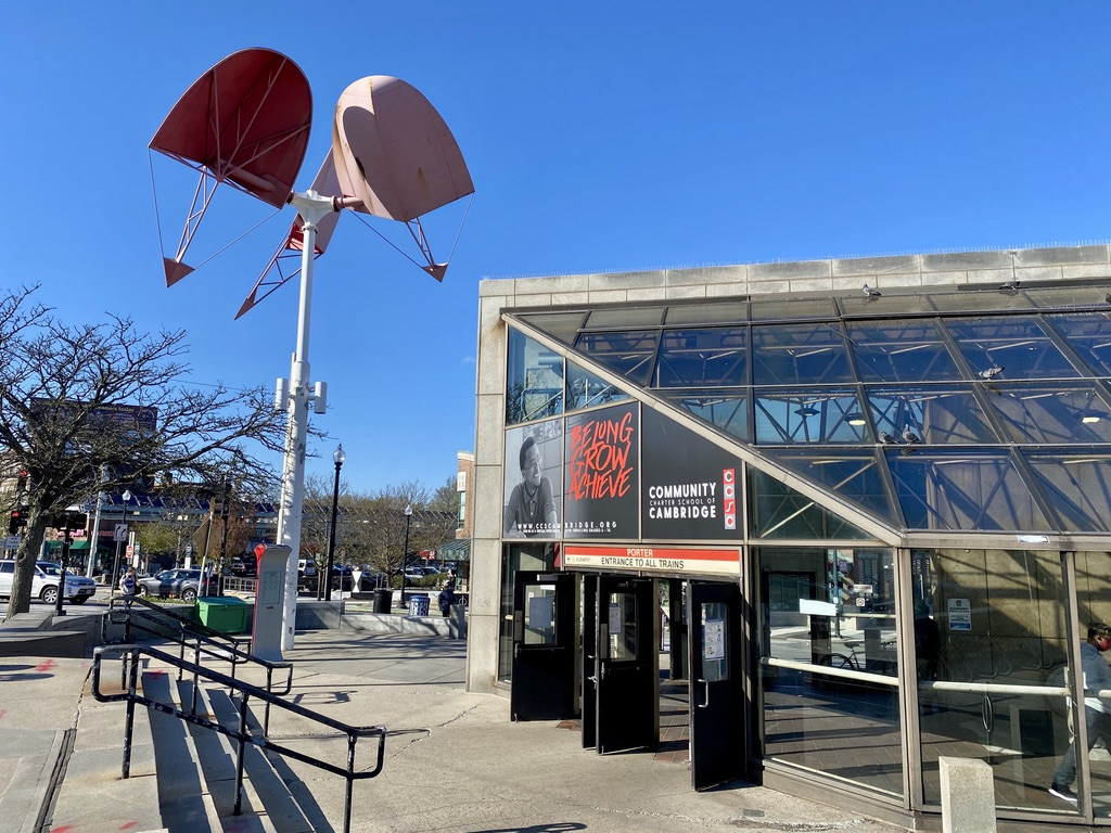 Porter Red Line Station in Cambridge, MA