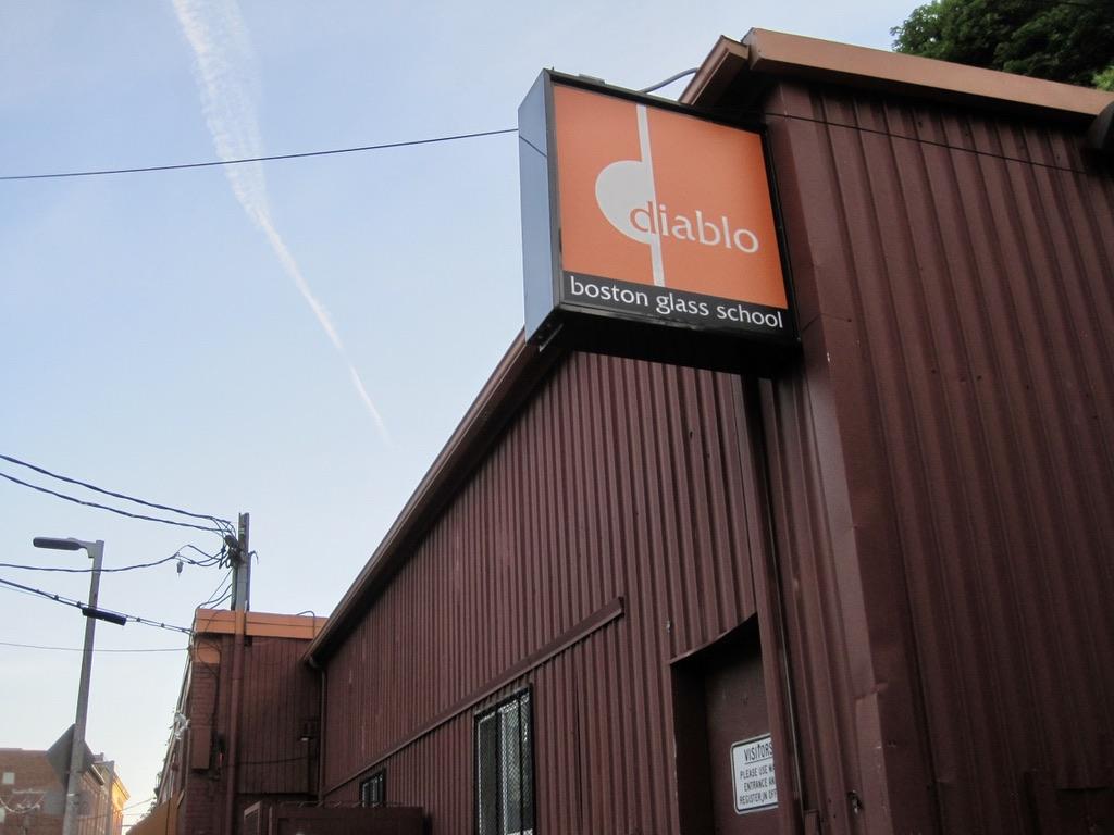 Diablo Boston Glass School on Terrace Street