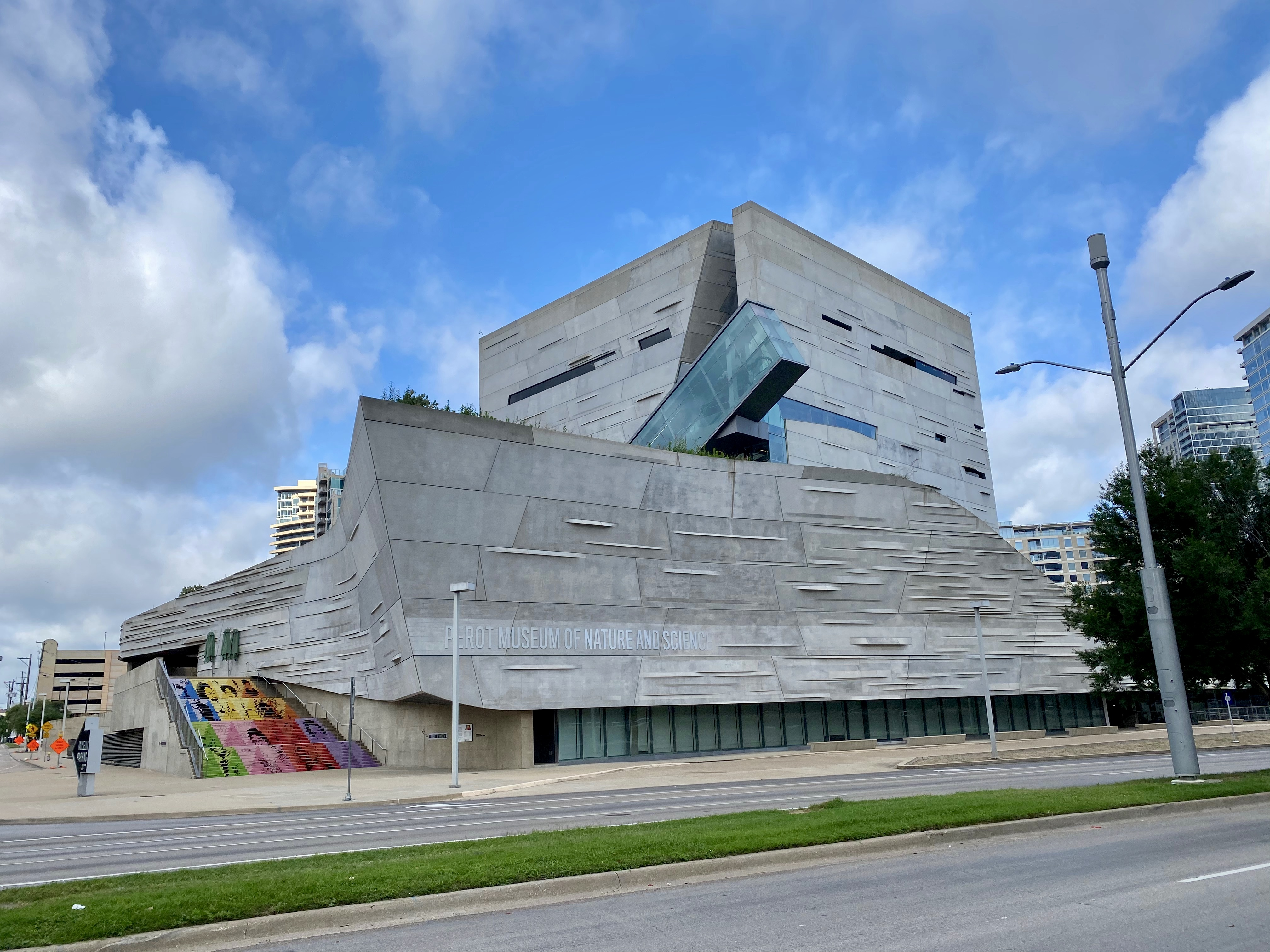 Perot Museum of Nature and Science in Dallas, TX