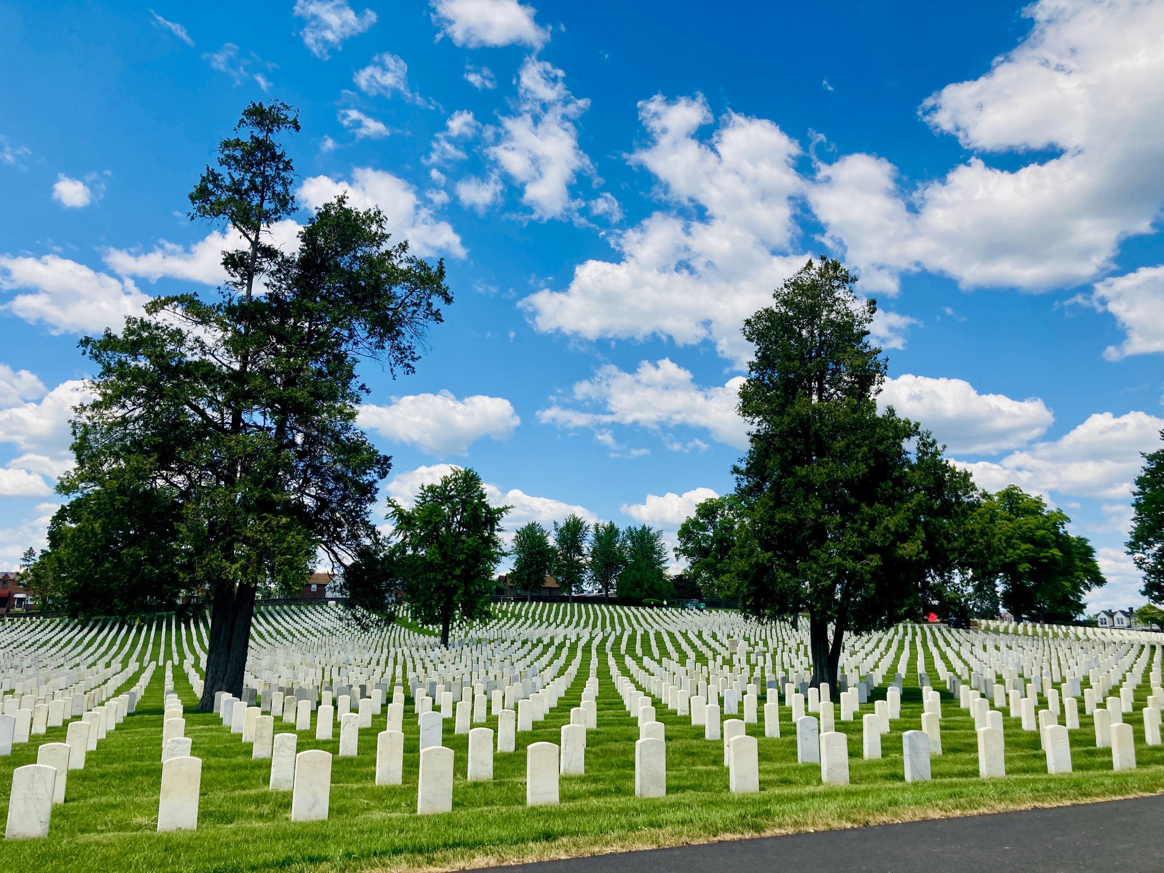 Military Cemetery in West Oak Lane, PA