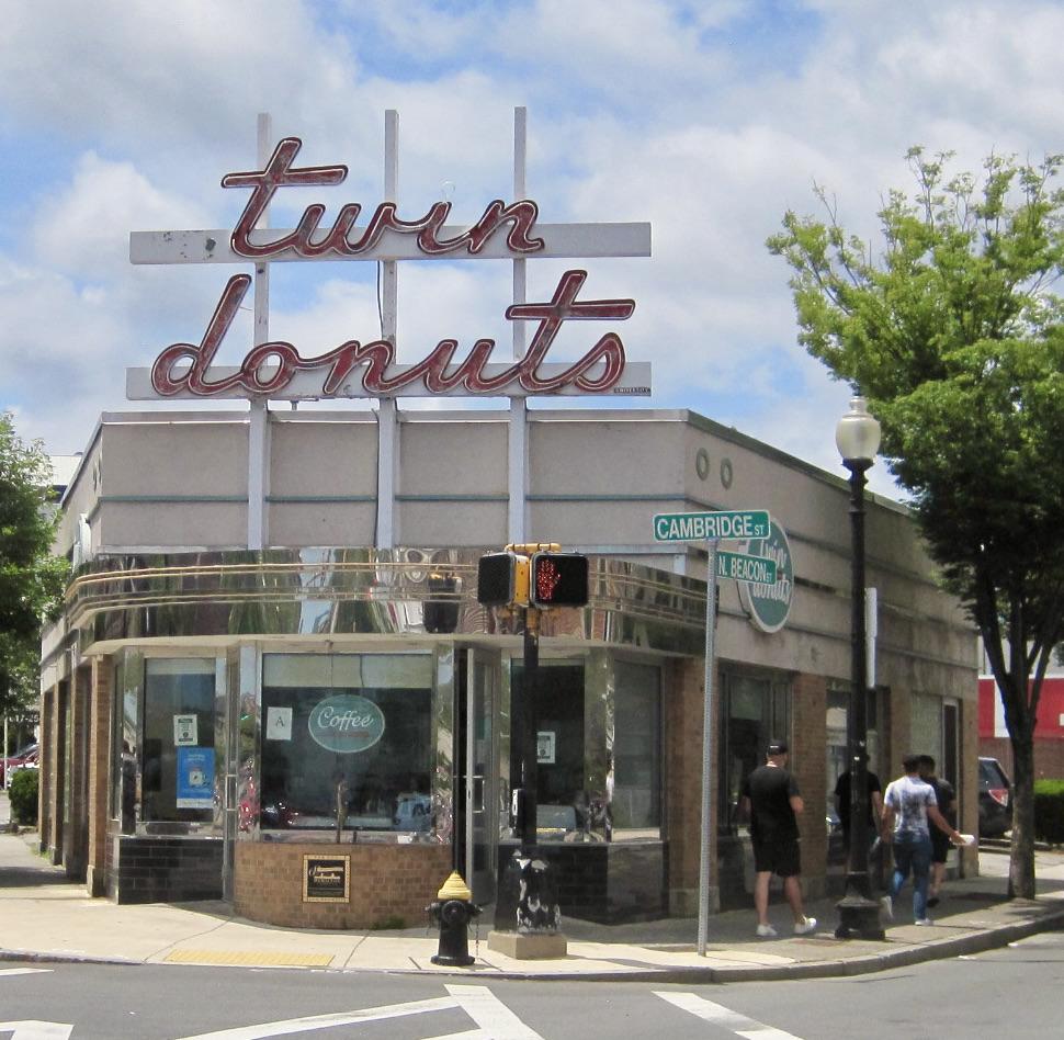 Local Favorite Twin Donuts in Brighton, MA