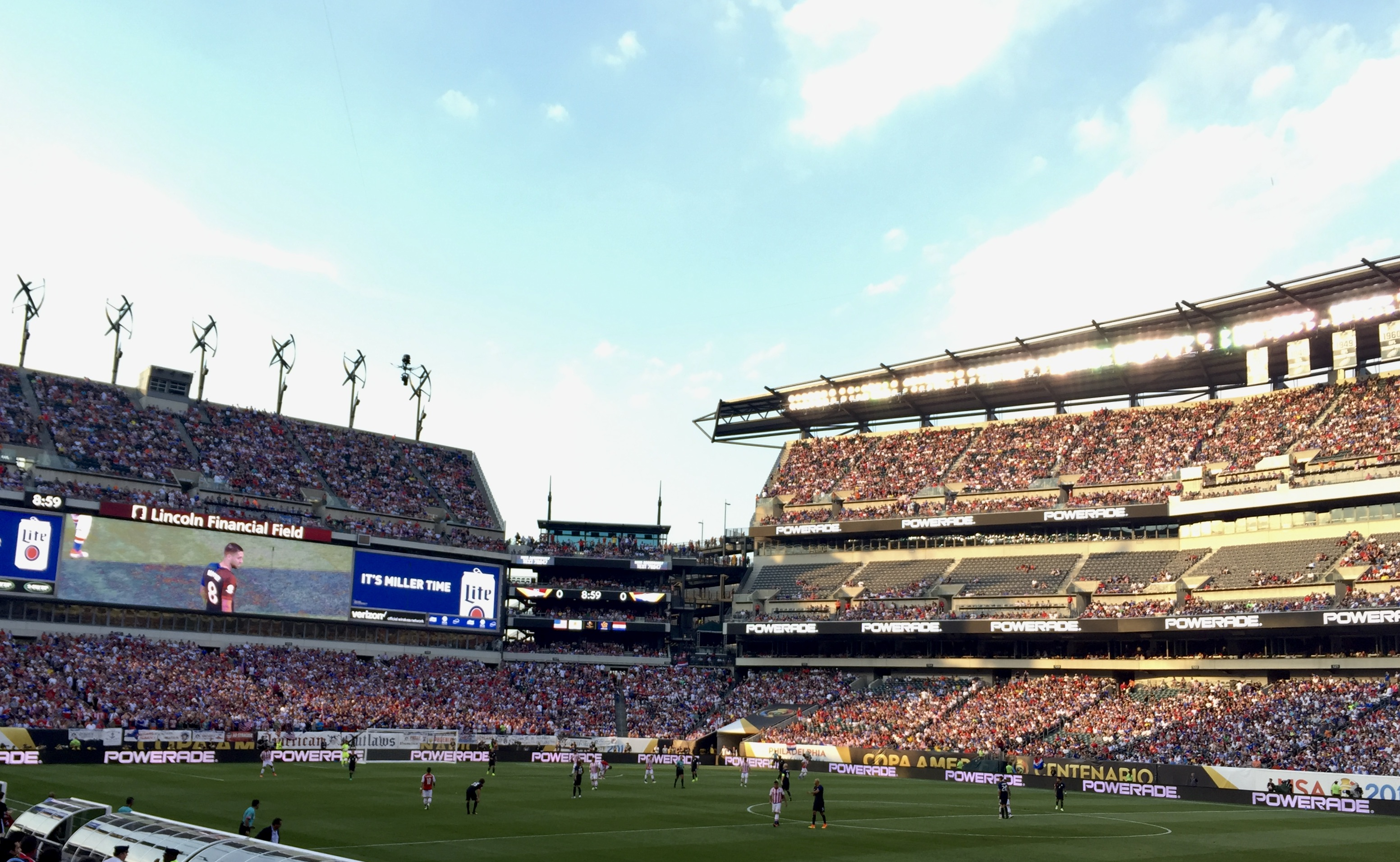 Lincoln Financial Field in South Philly