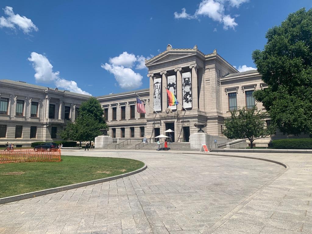 The Museum of Fine Arts in Boston