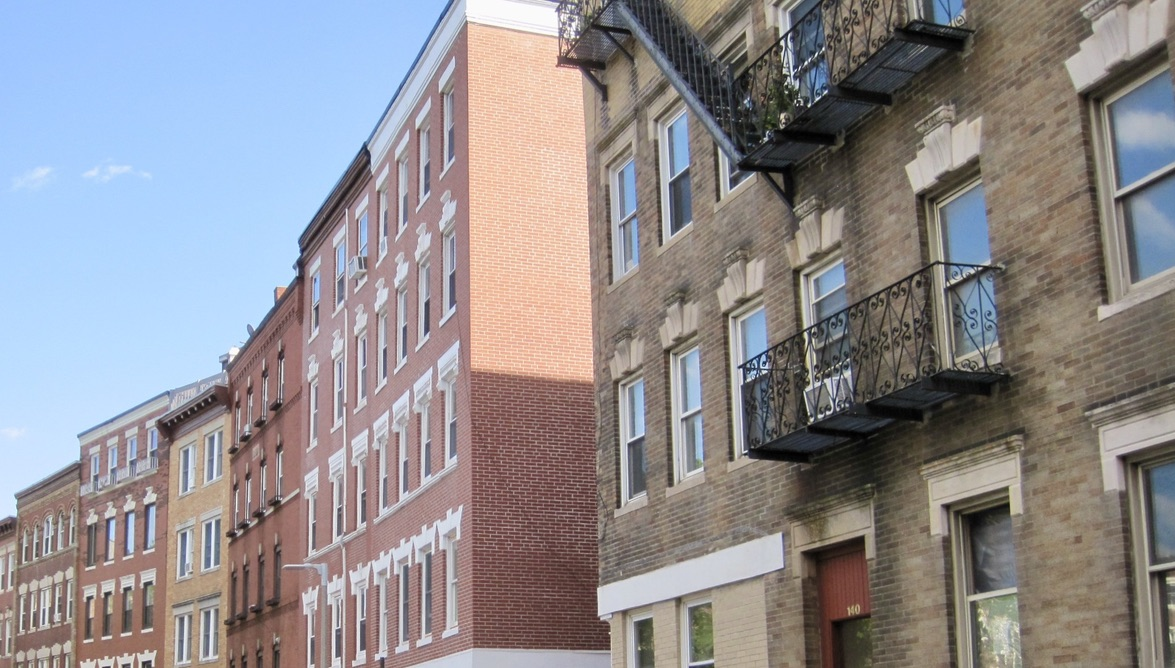 Apartments on Endicott Street in the North End