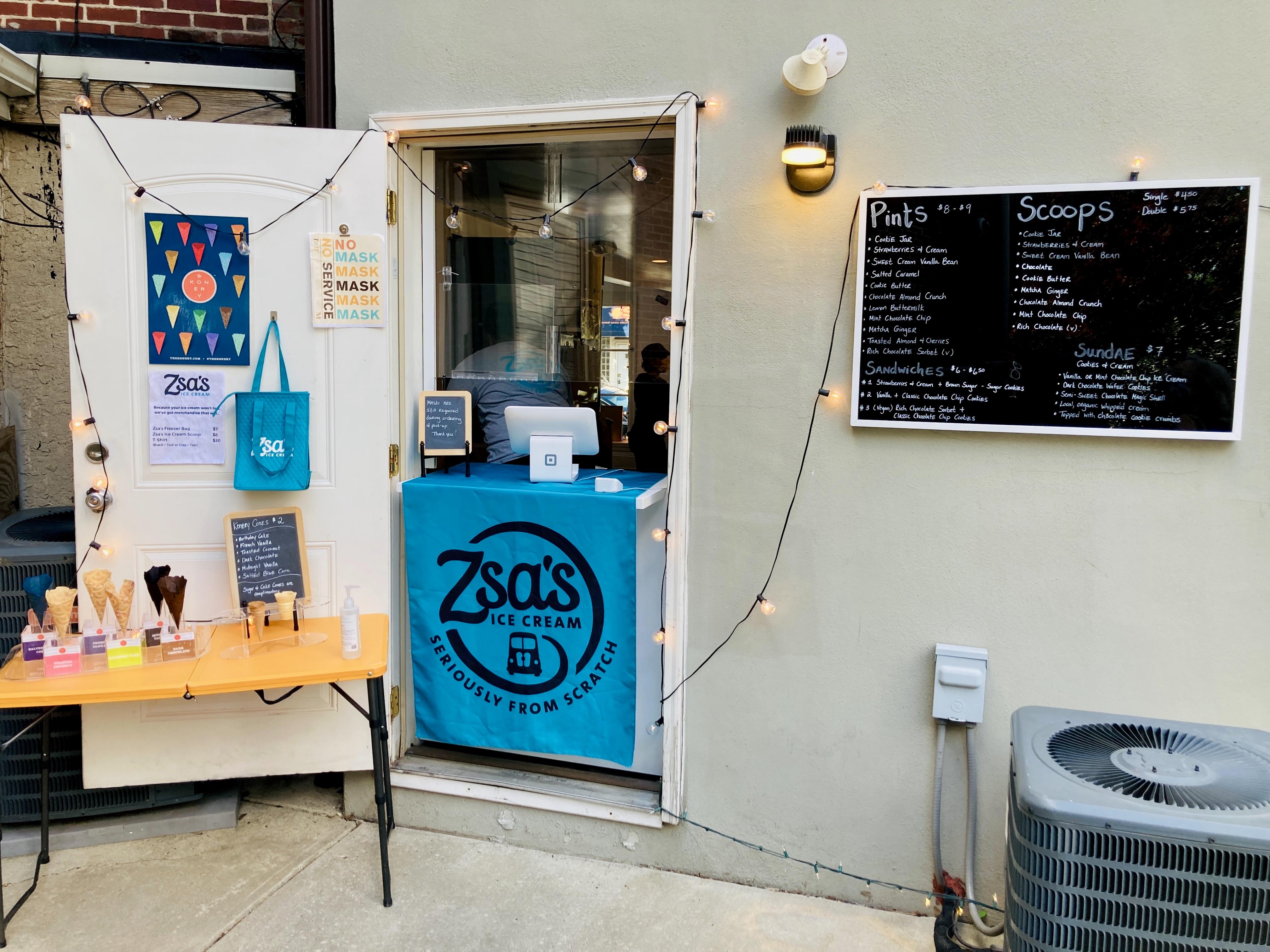 Zsa's Ice Cream in Mt Airy