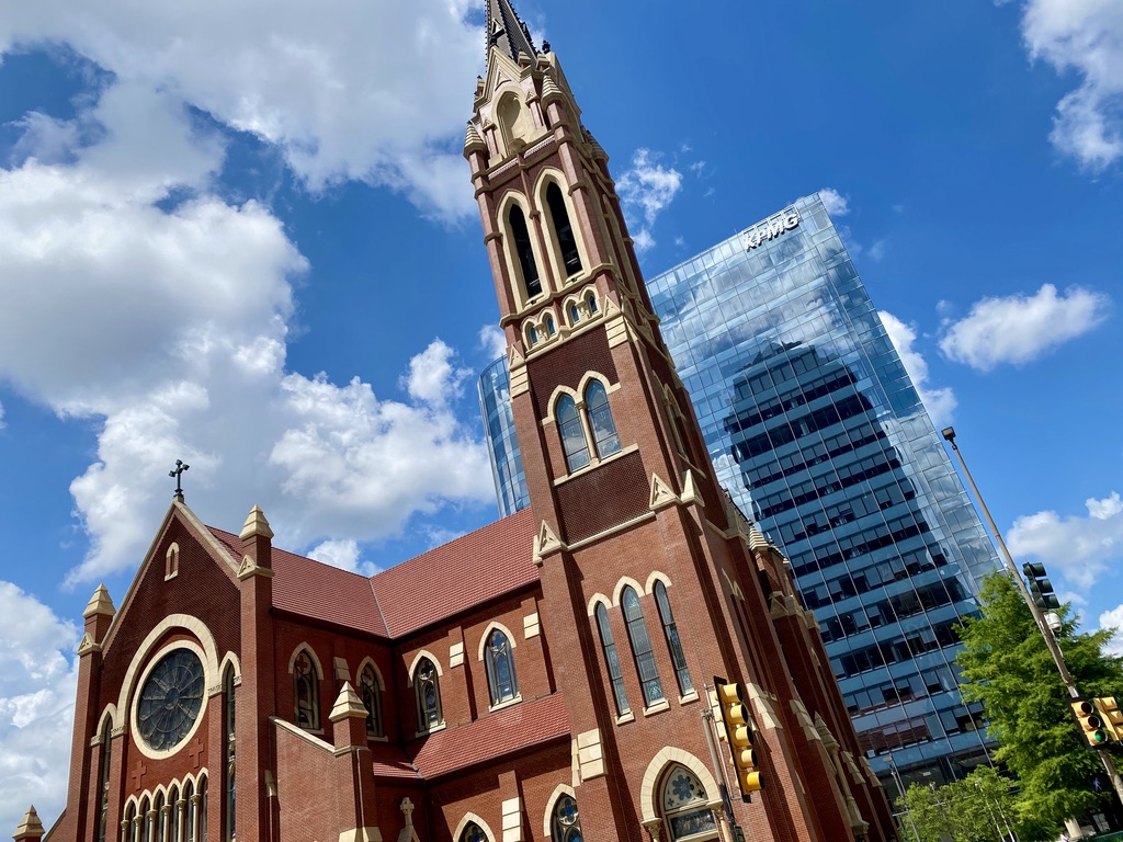 Cathedral Guadalupe in Downtown Dallas, TX