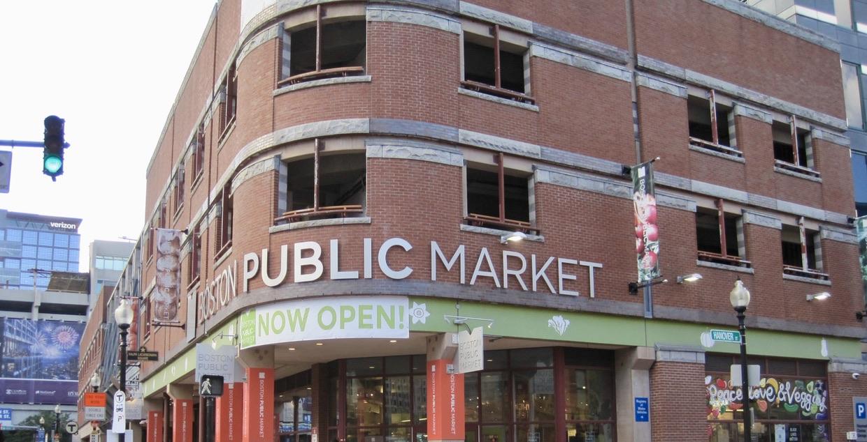 Boston Public Market in the North End
