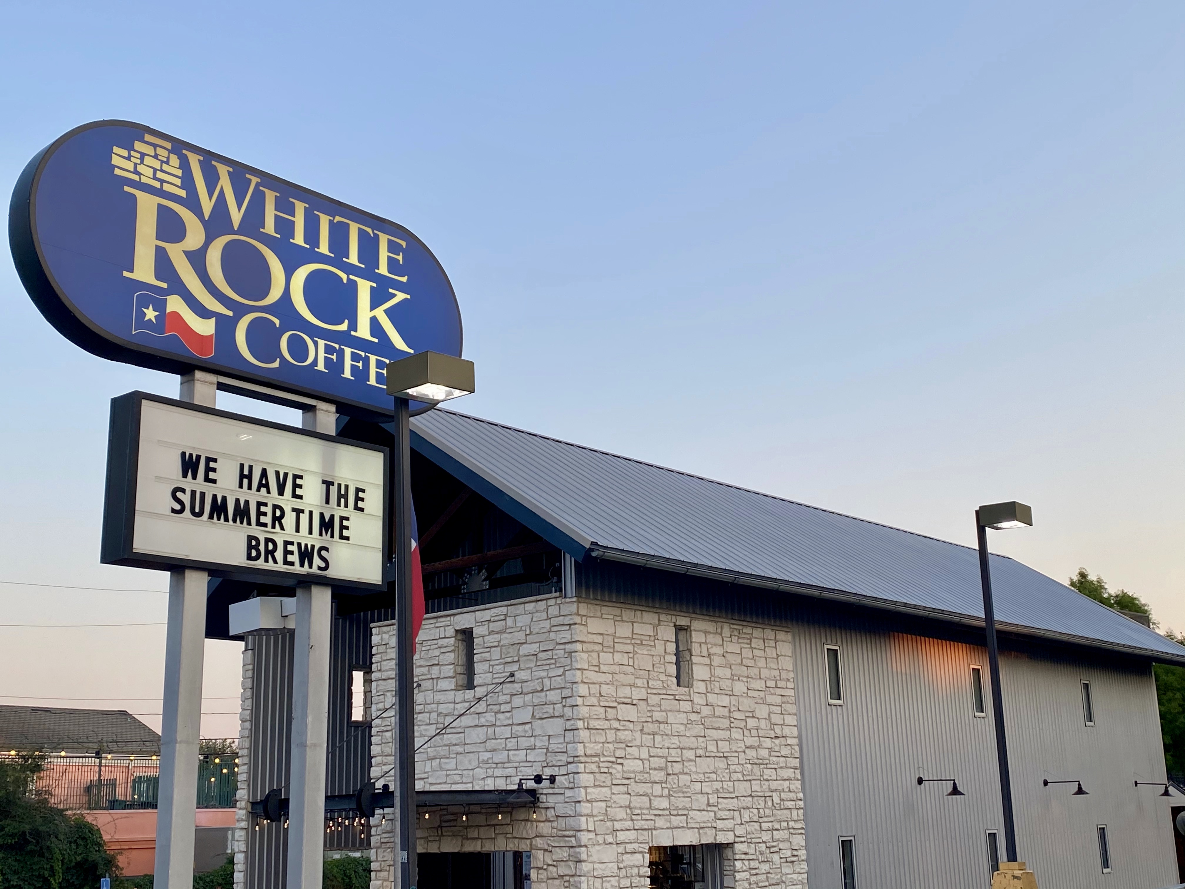White Rock Coffee on E NW Highway, Lake Highlands