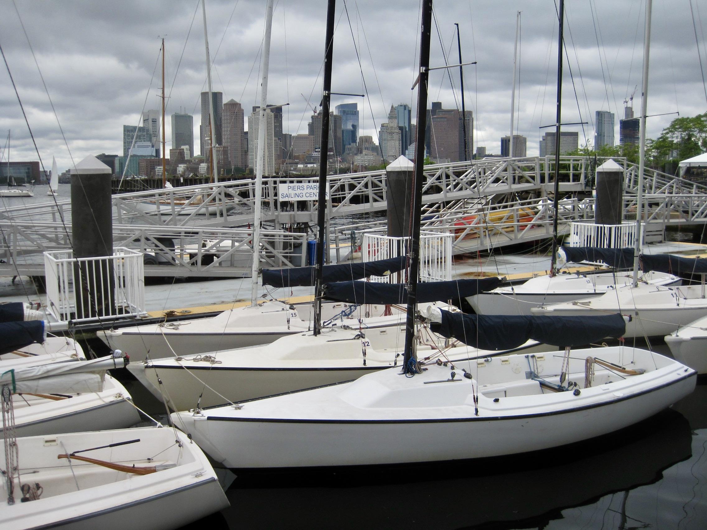 Piers Park Sailing Center on Jeffries Point