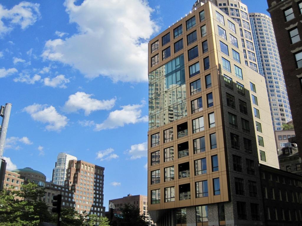 High Rises off Atlantic Avenue in Downtown Boston