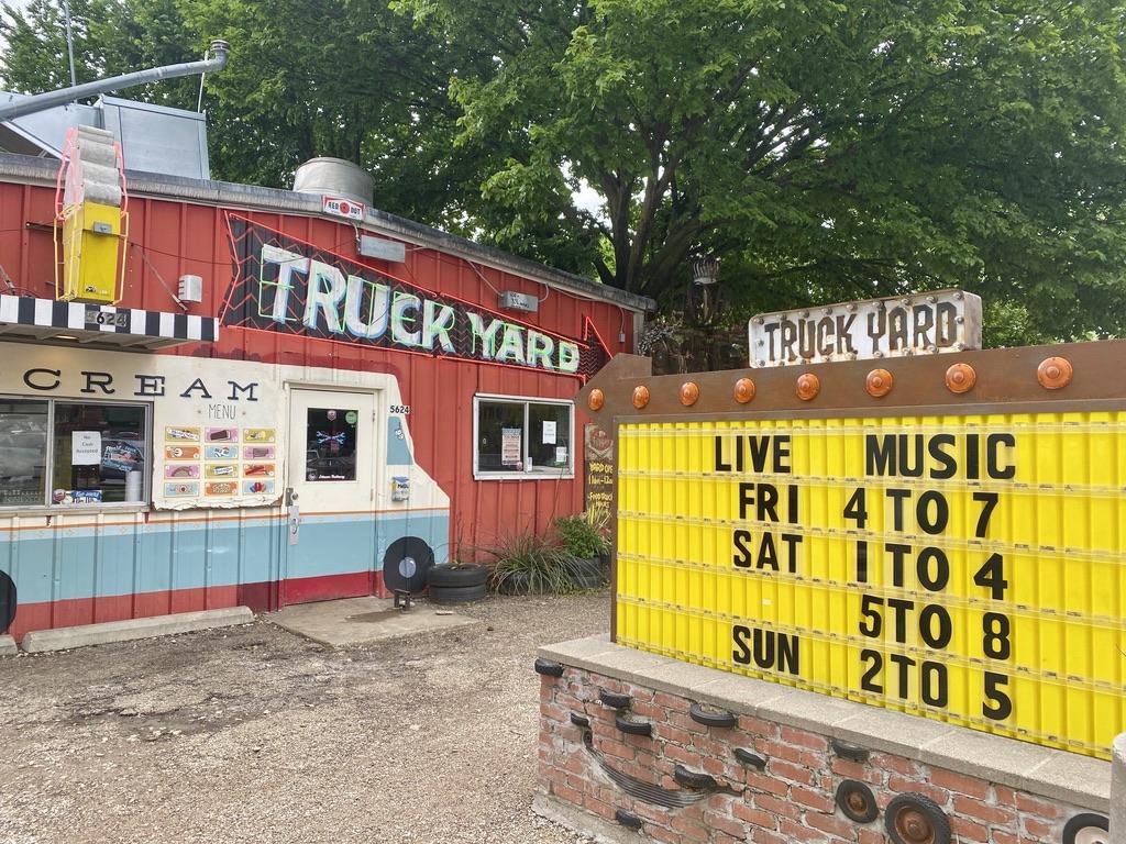 Truck Yard on Sears St in Lower Greenville, TX