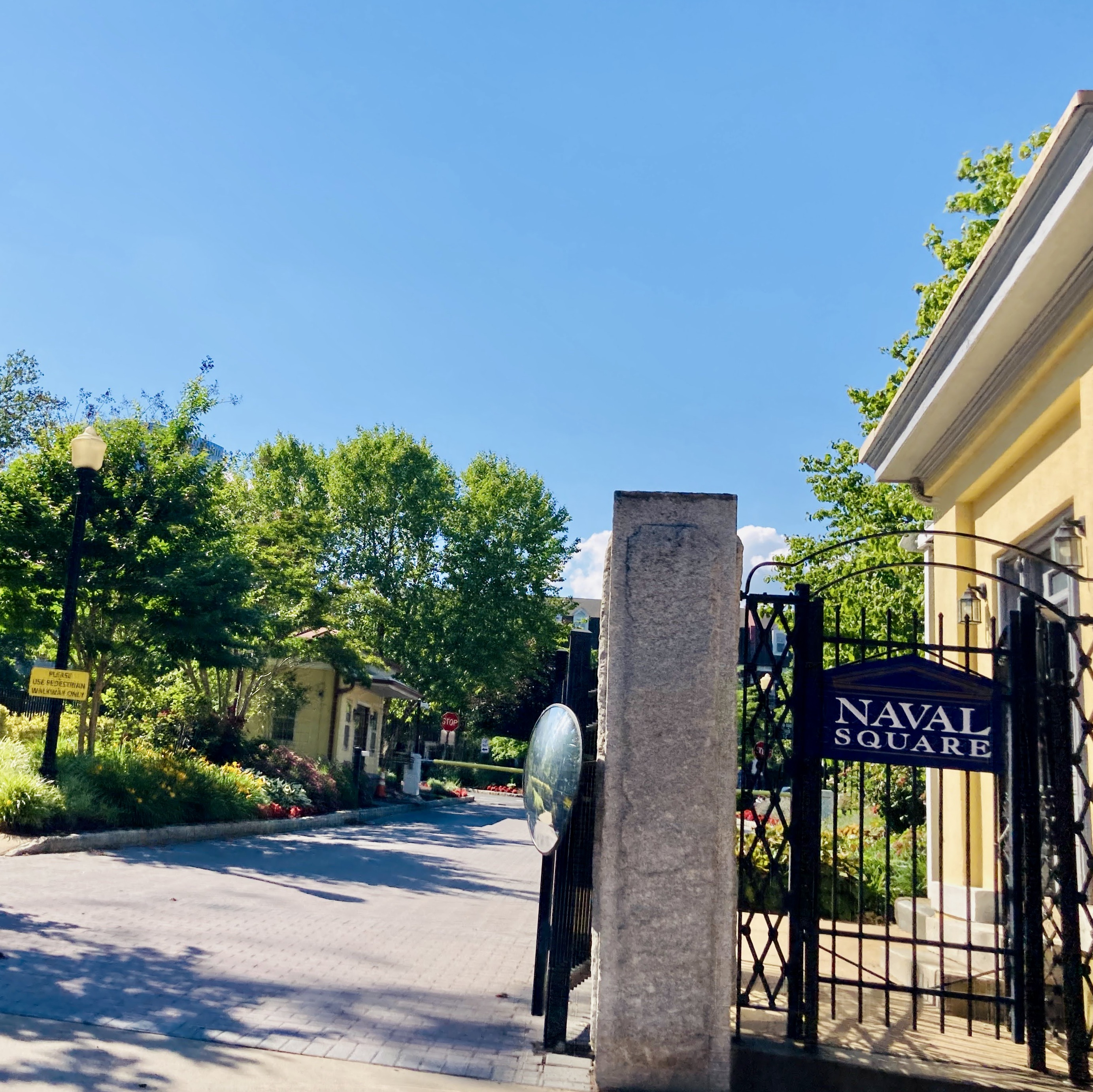 Naval Square Gated Entrance