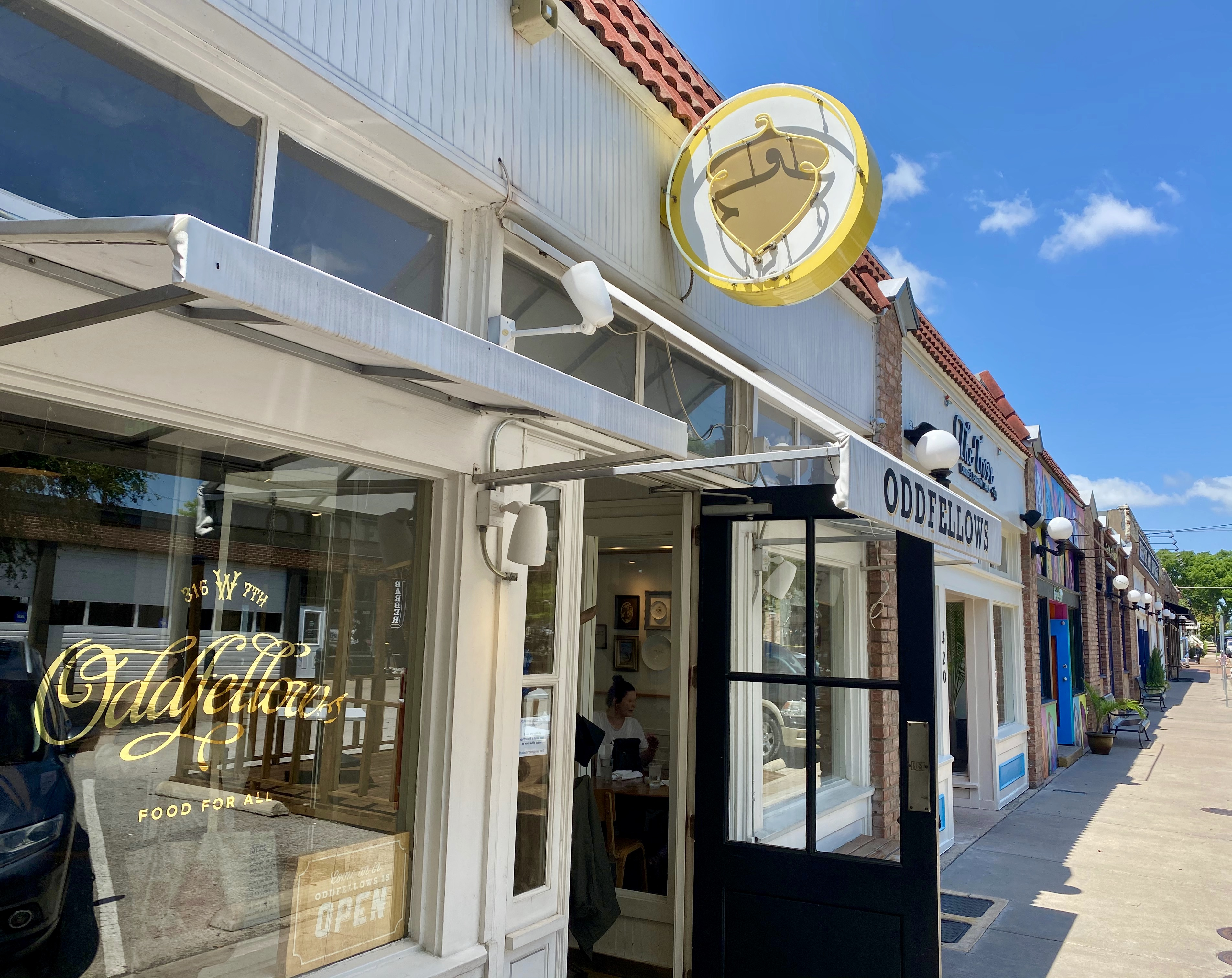 Oddfellows in the Bishop Arts District