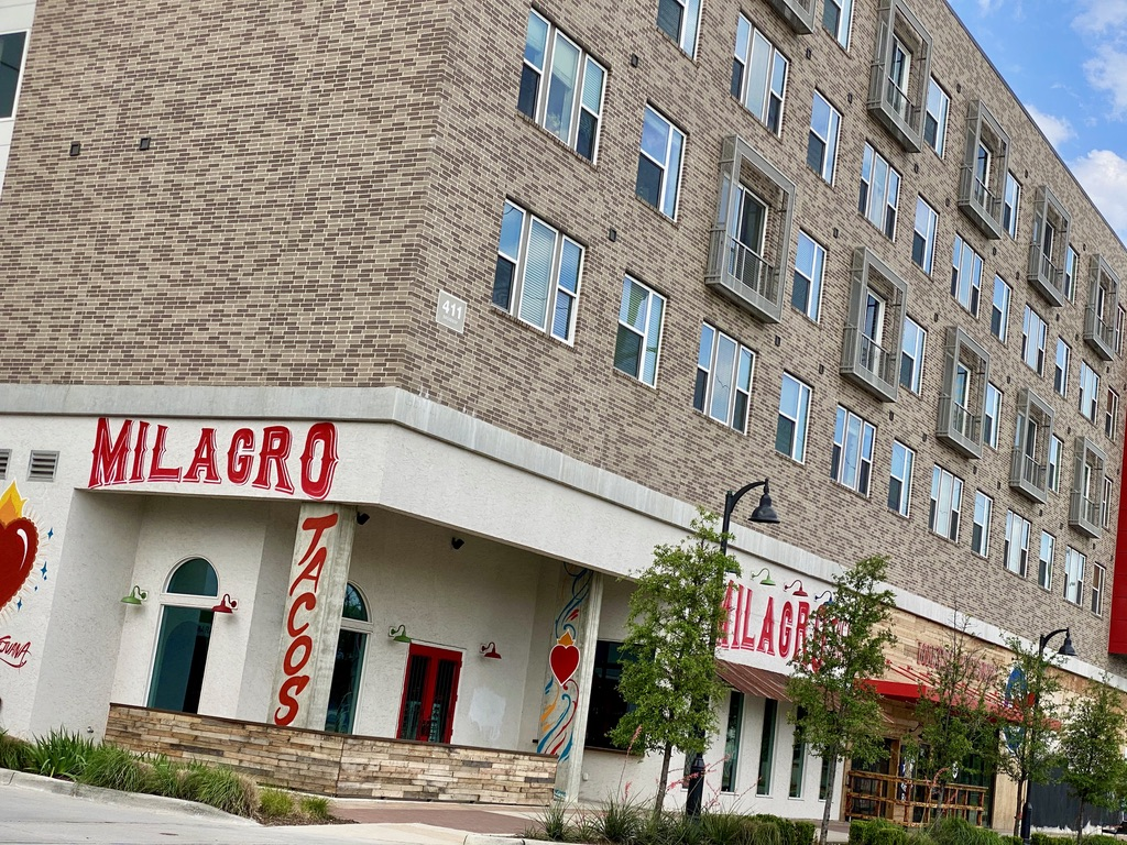 Milagro Tacos and Apartments in Trinity Groves, TX