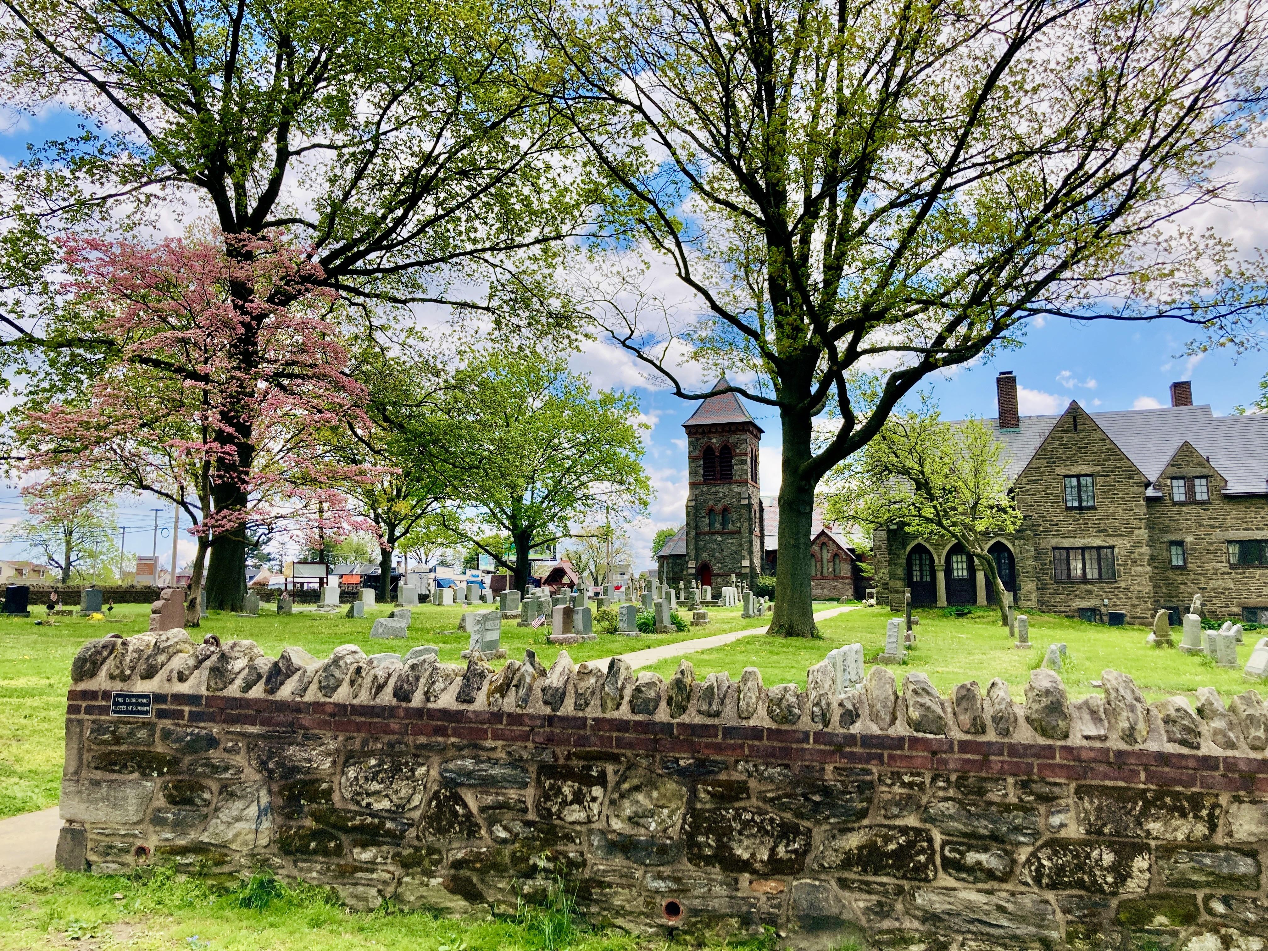 Church and Cemetery in Roxborough