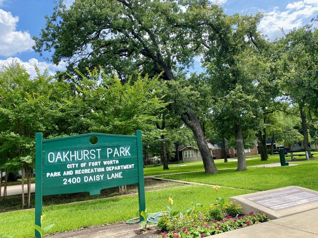 Oakhurst Park in Fort Worth, TX