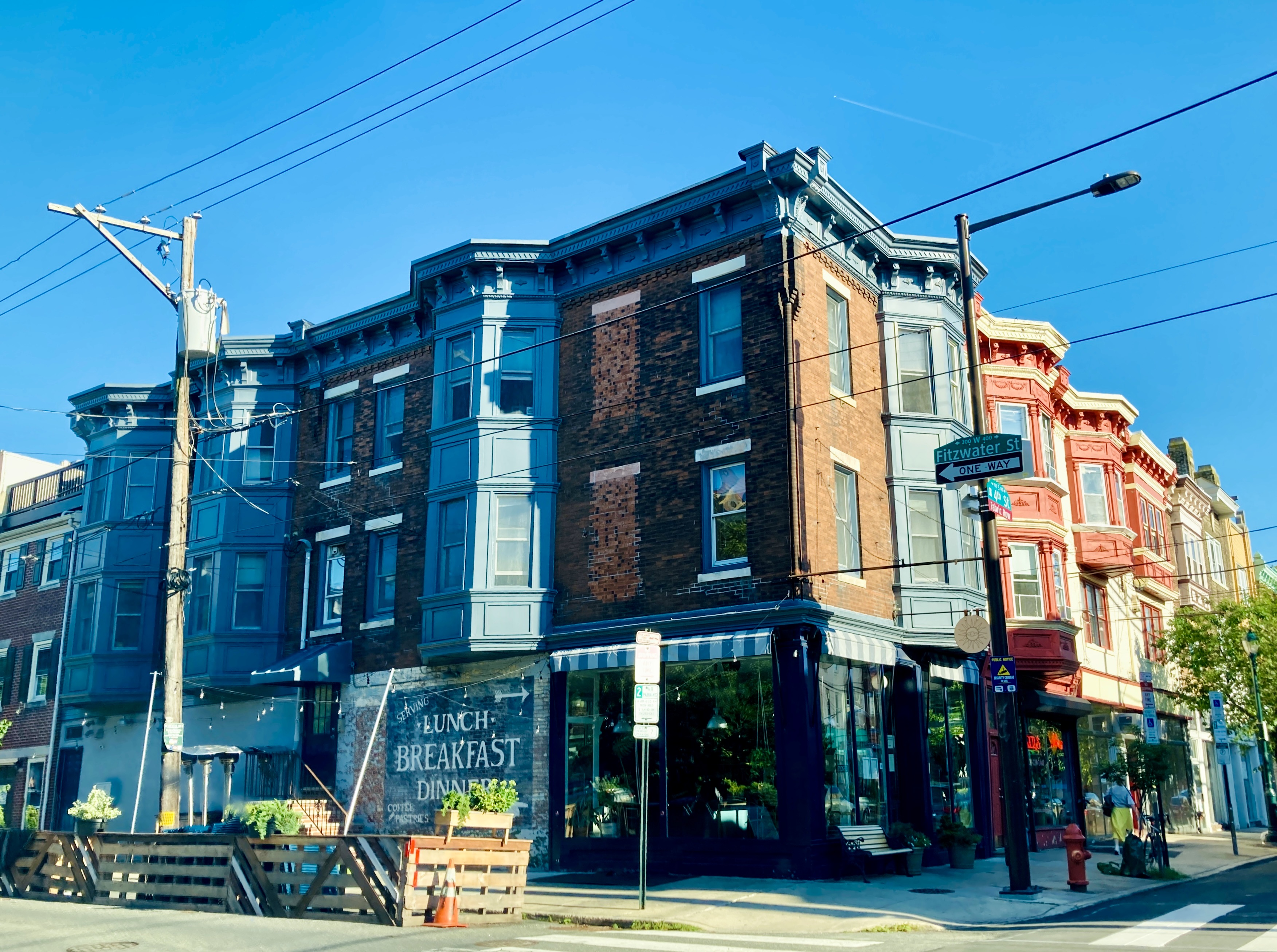 Fitzwater St Cafés in Society Hill