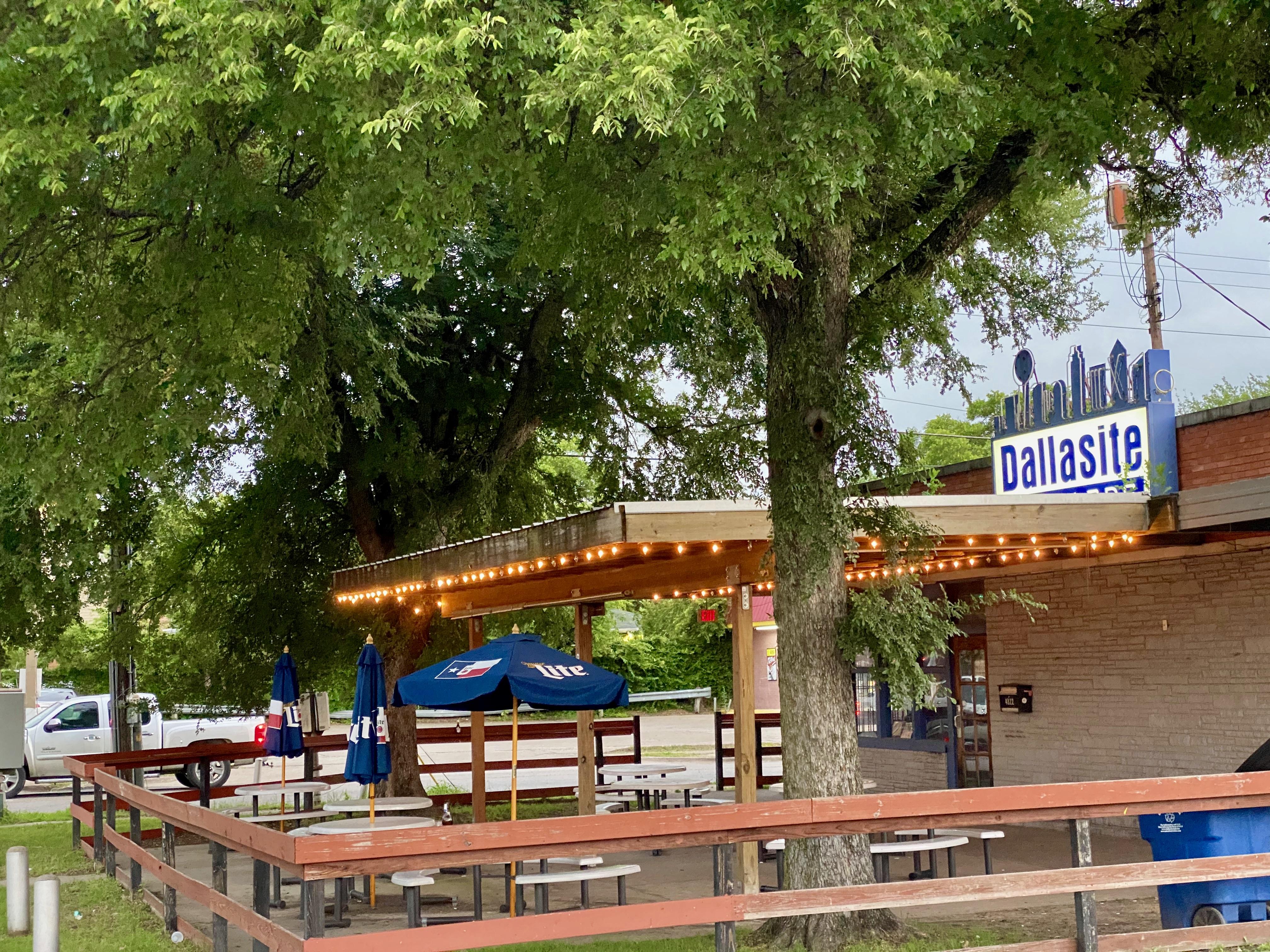 Dallasite Bar in Old East Dallas, TX