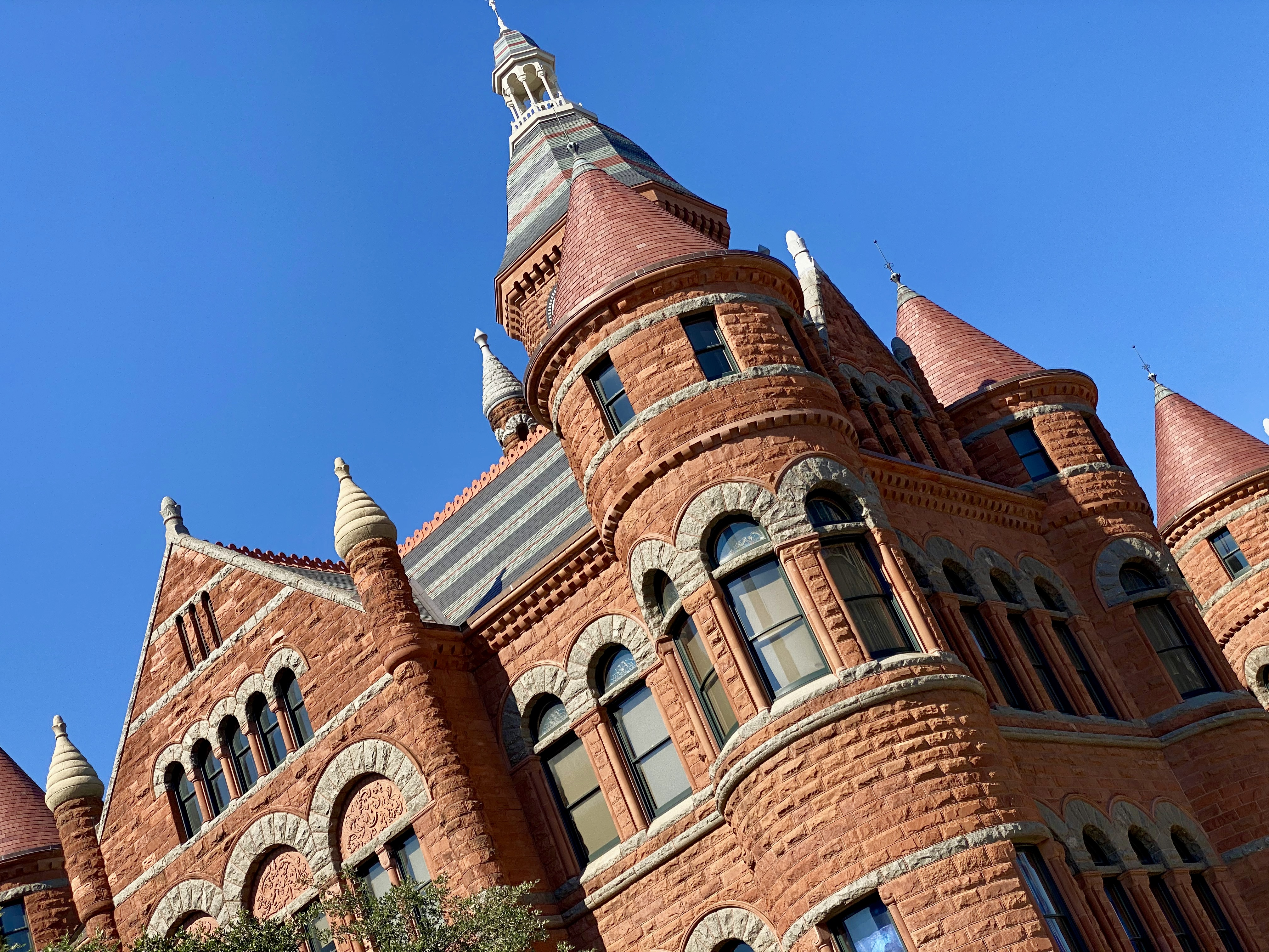 Old Red Courthouse Museum in Downtown Dallas, TX