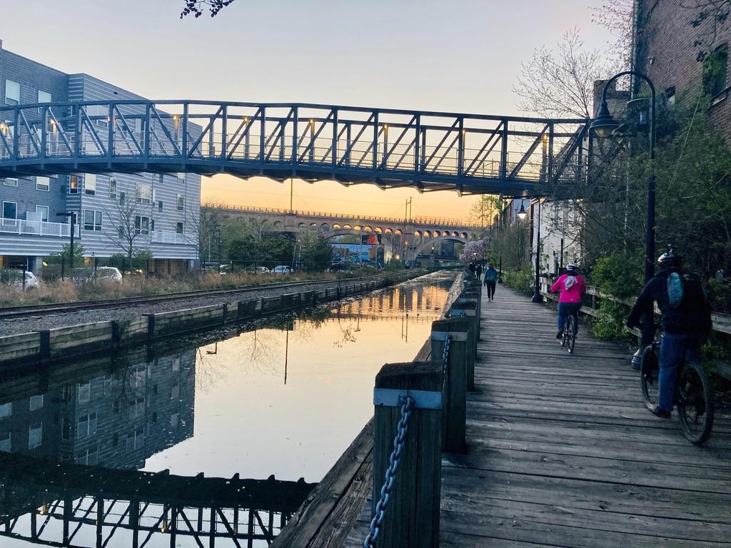 Manayunk Canal Bike Path