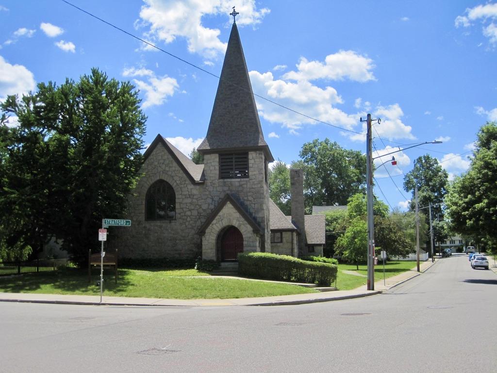 Emmanuel Episcopal Church in West Roxbury