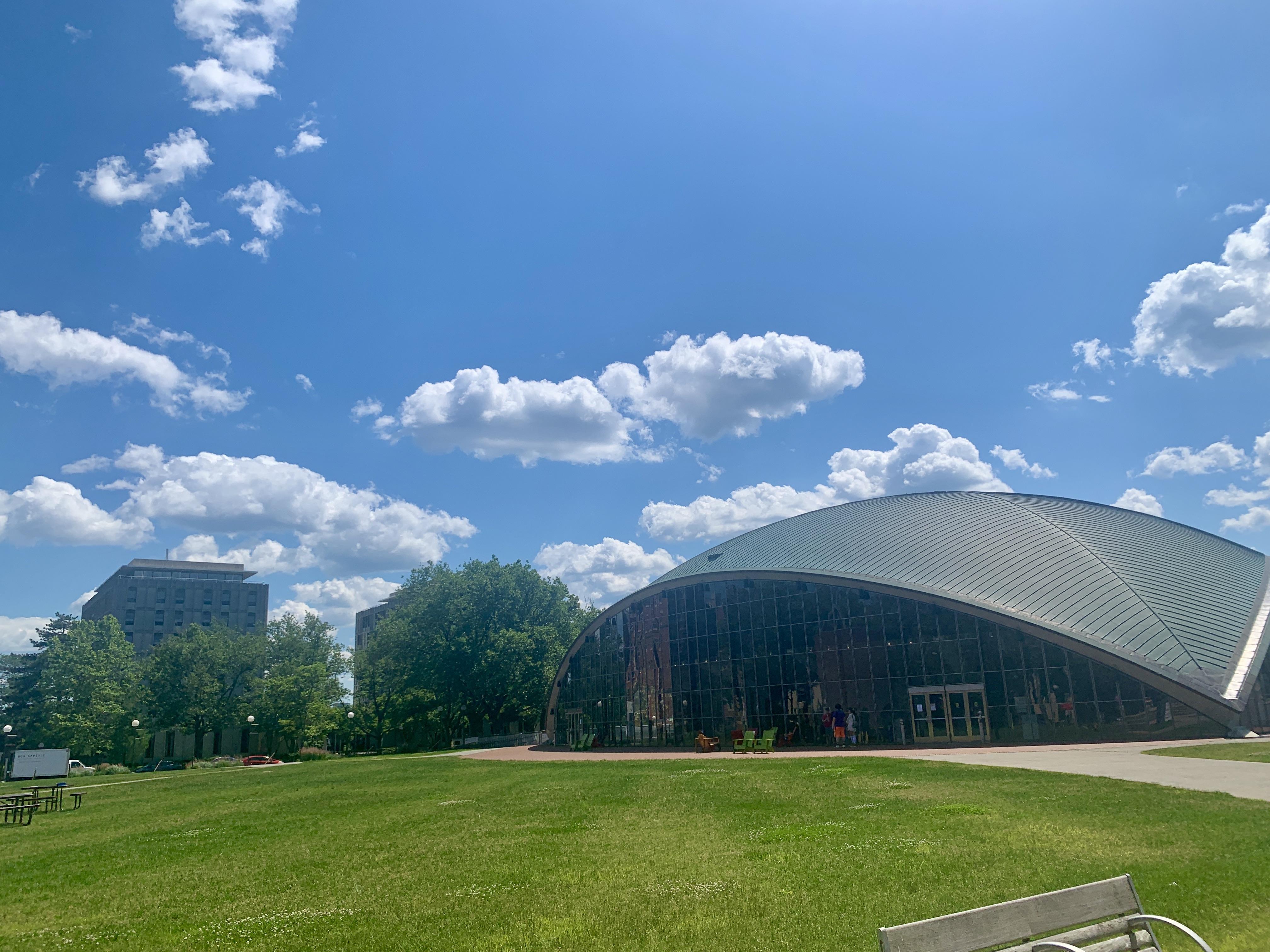 The Kresge Auditorium at MIT