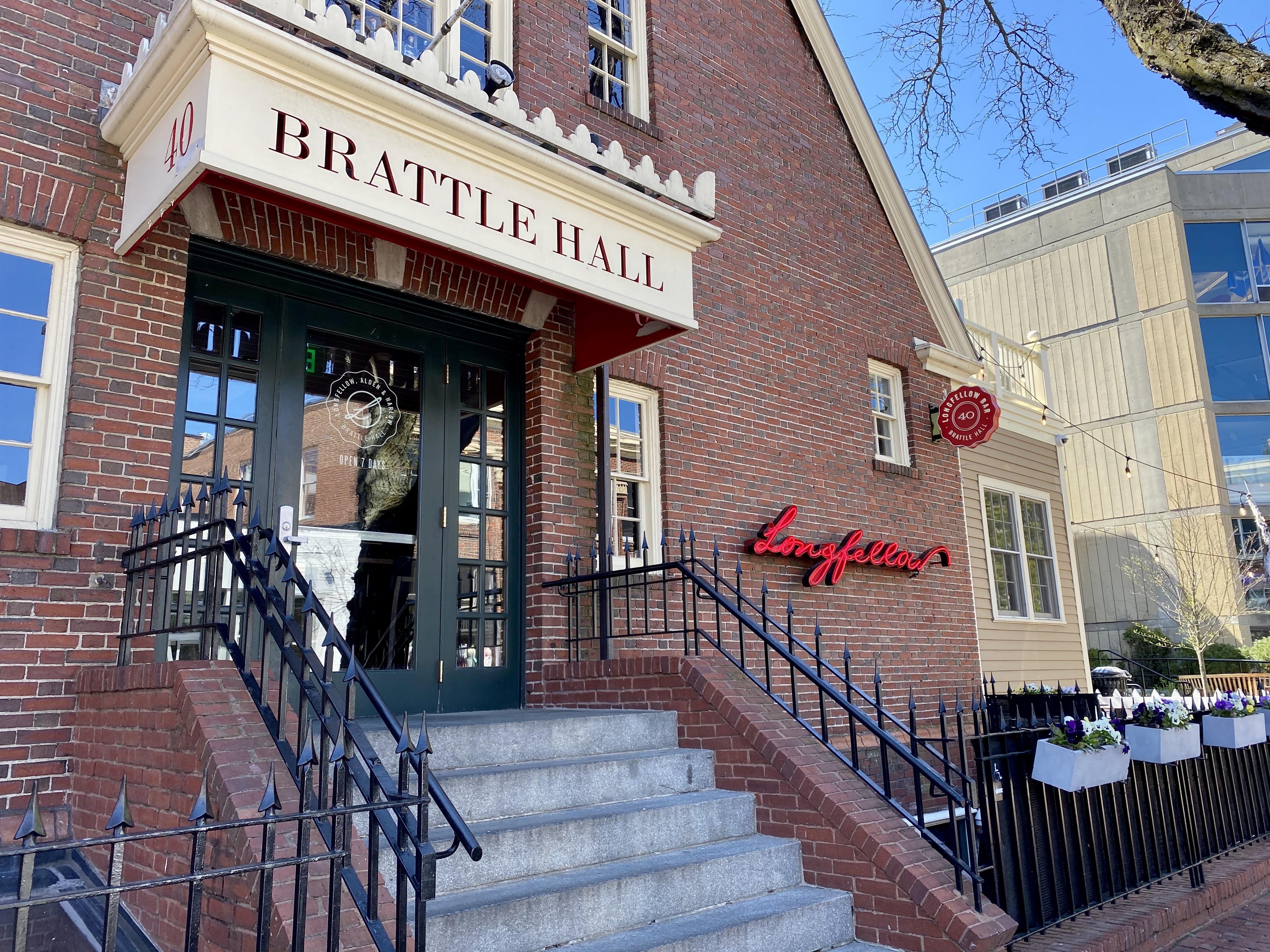 Brattle Hall in Harvard Square