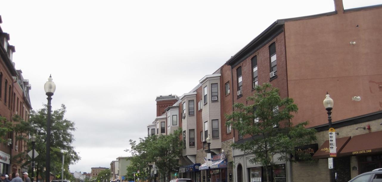 Meridian Street in East Boston