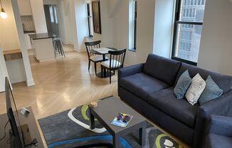 Furnished/Flex-Lease Suites @ David Stott-Detroit