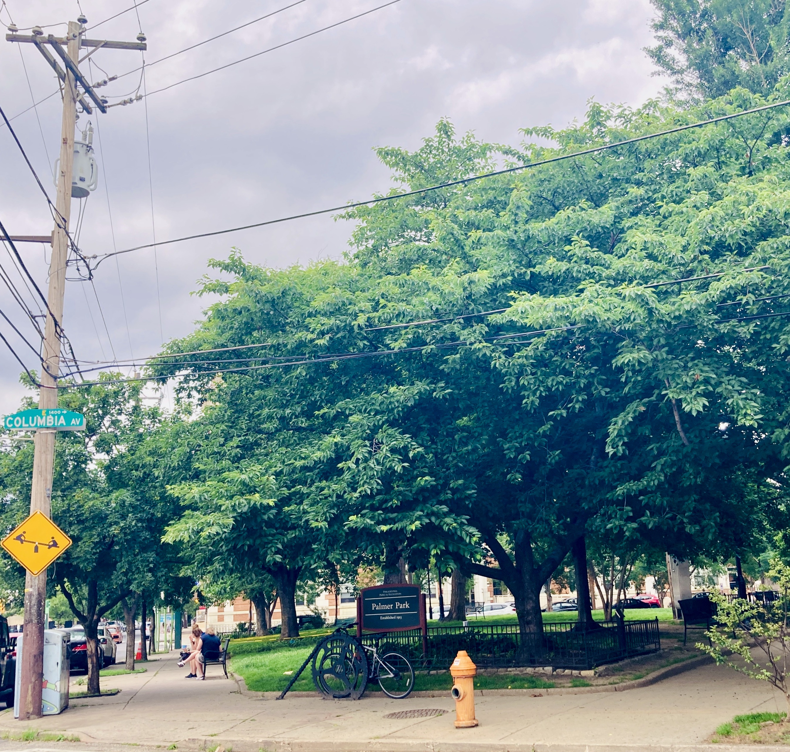 Palmer Park on Columbia Ave