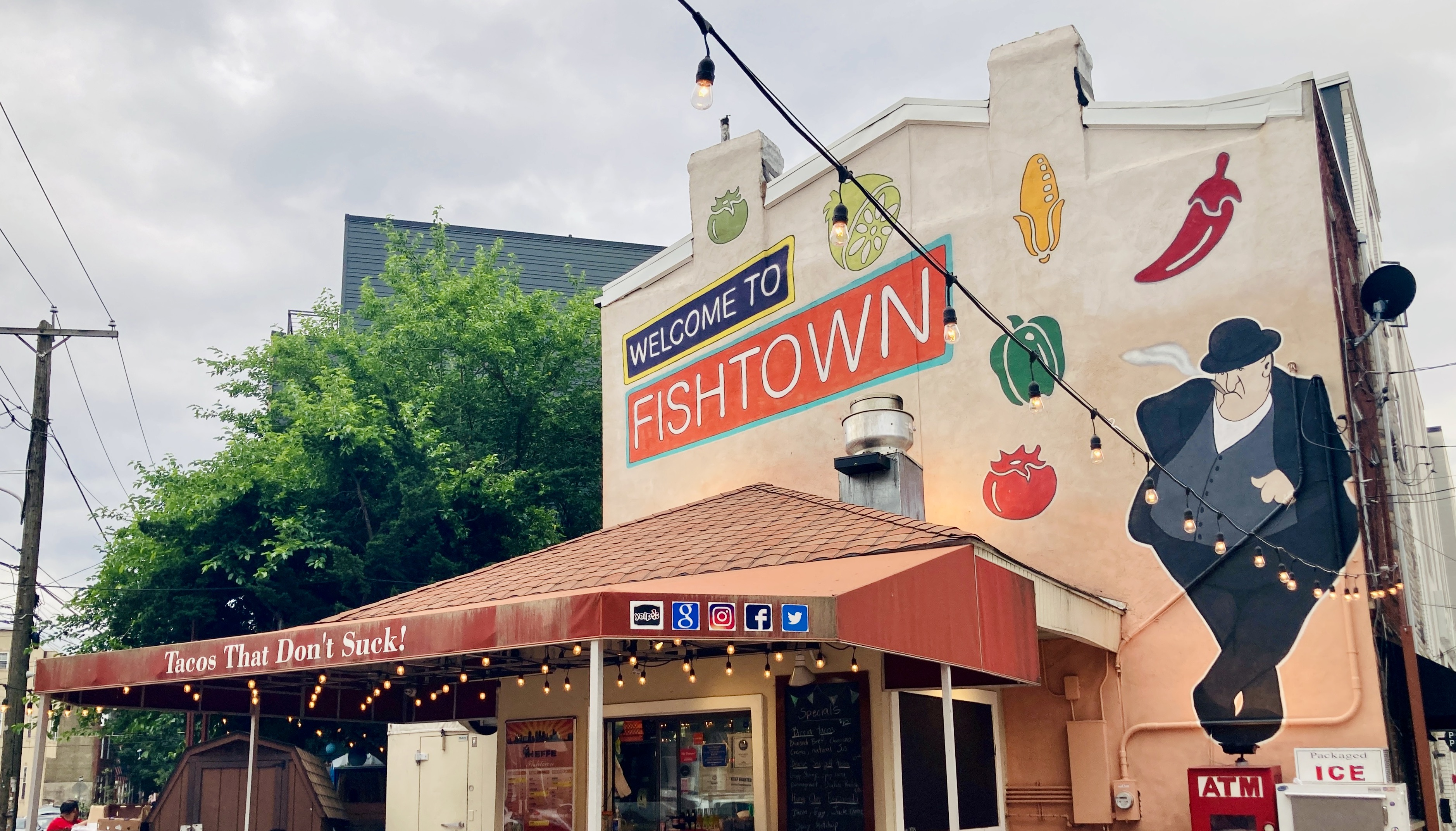 Heffe Tacos and Fishtown Mural