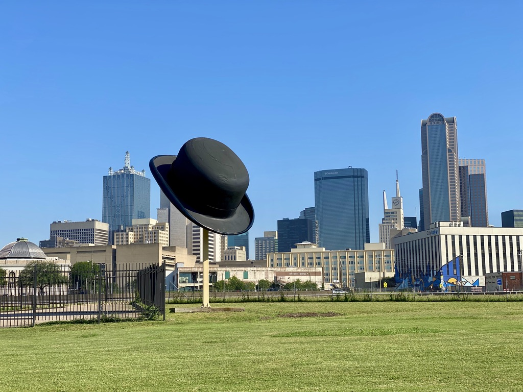 Giant Bowler Hat in The Cedars, TX