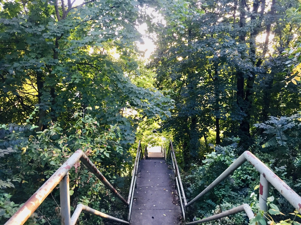 Manayunk, Philadelphia Outdoor Stairs