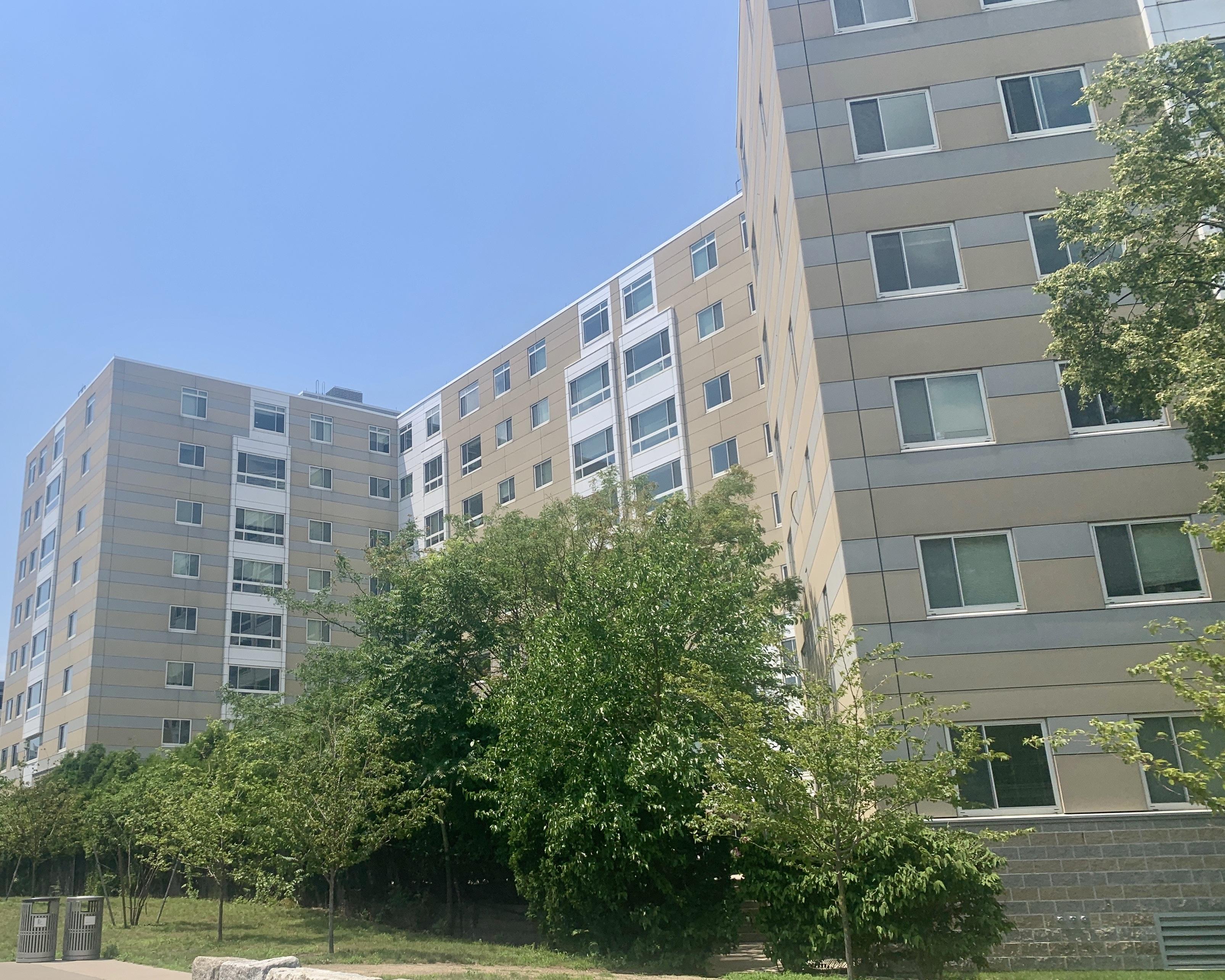 Peninsula Apartments on Mt Vernon Street, Dorchester