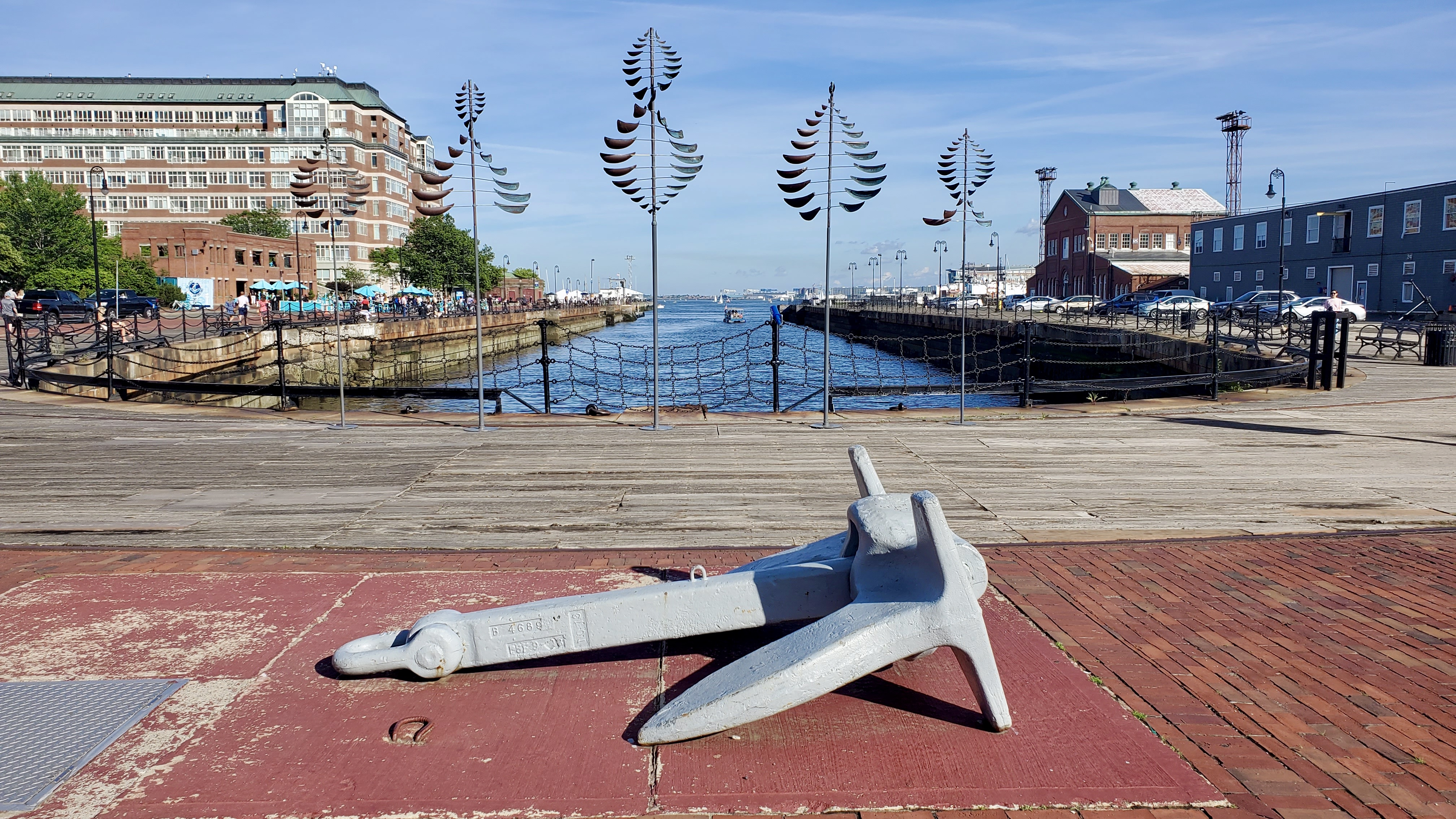 Wind on Water Exhibit at Shipyard Park