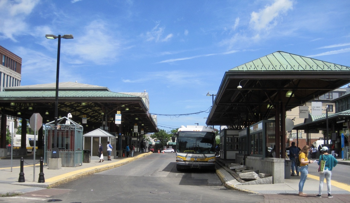 Roxbury's Nubian Bus Station (Formerly Dudley Station)