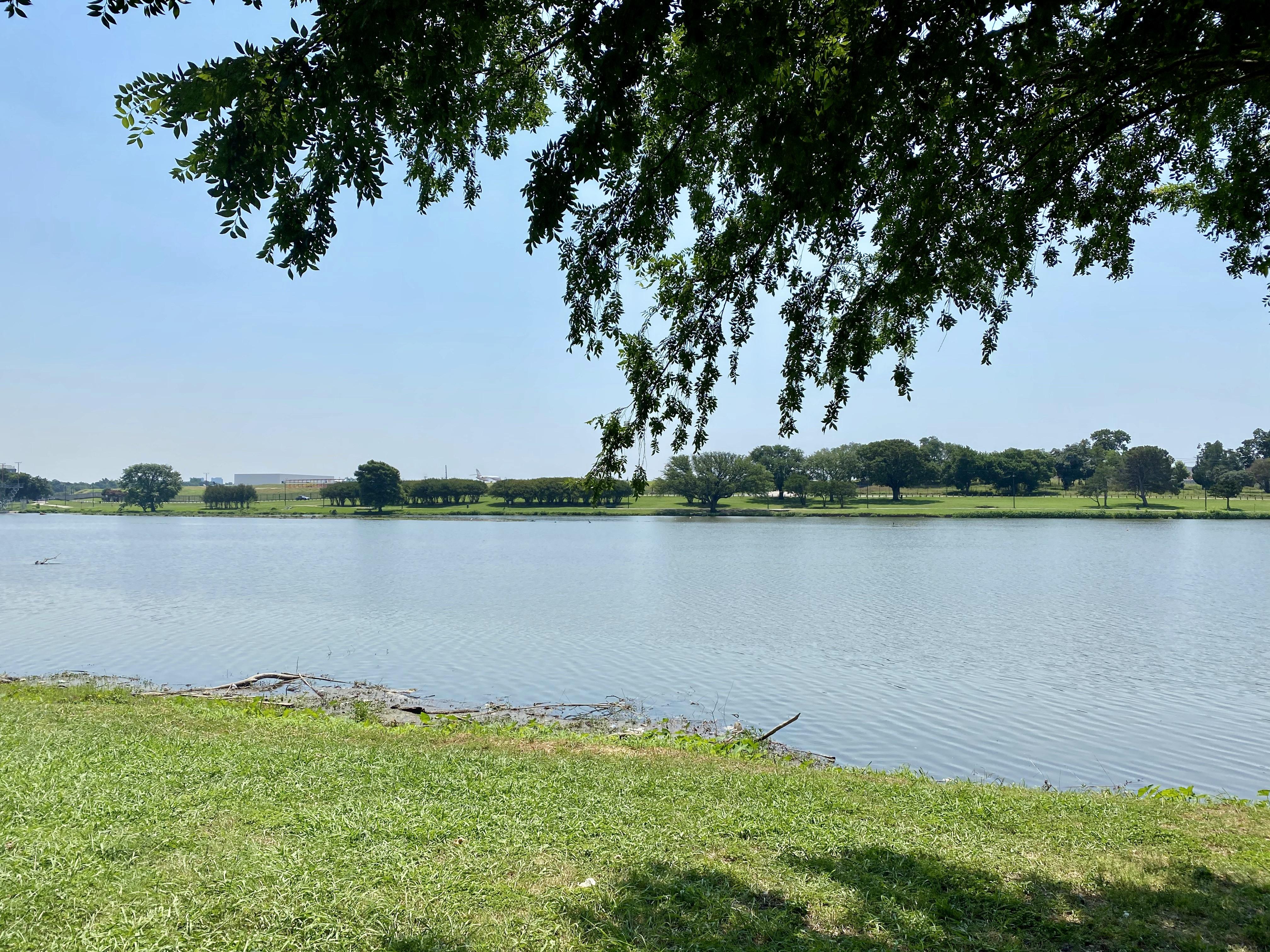 Bachman Lake near Love Field, Dallas