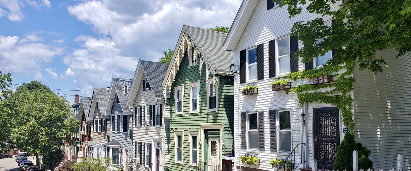 Linden Street Homes in Dorchester Heights